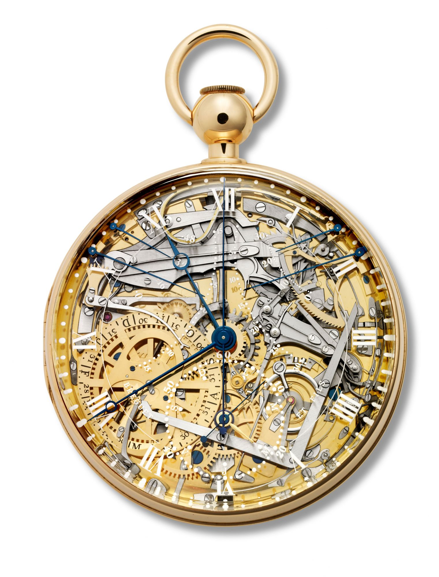 Breguet新款No.1160瑪麗‧安東尼懷錶。