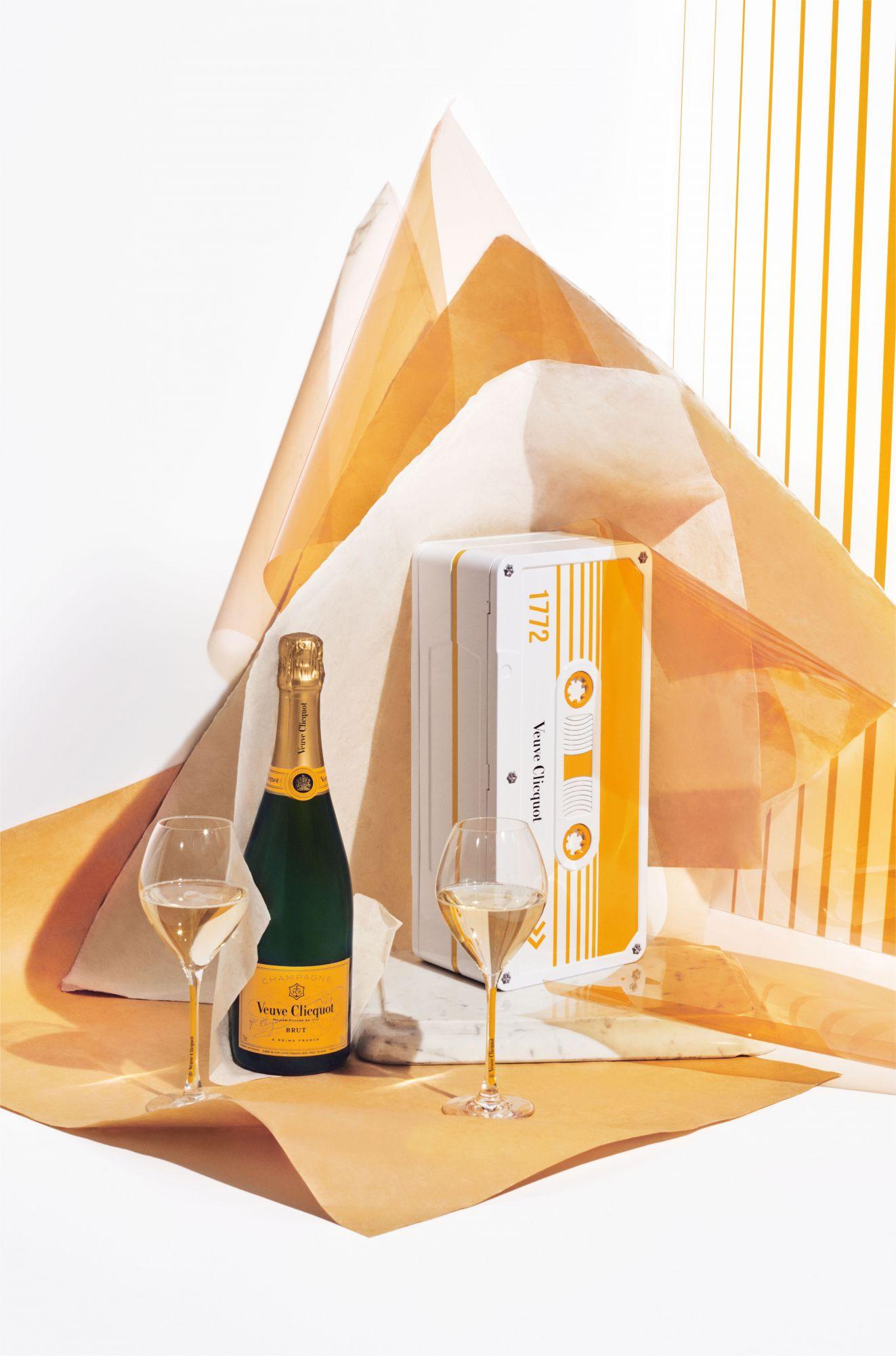 凱歌香檳新包裝上市! 迪斯可炫彩、潮流斑馬紋......復古懷舊「卡帶盒」限量登場