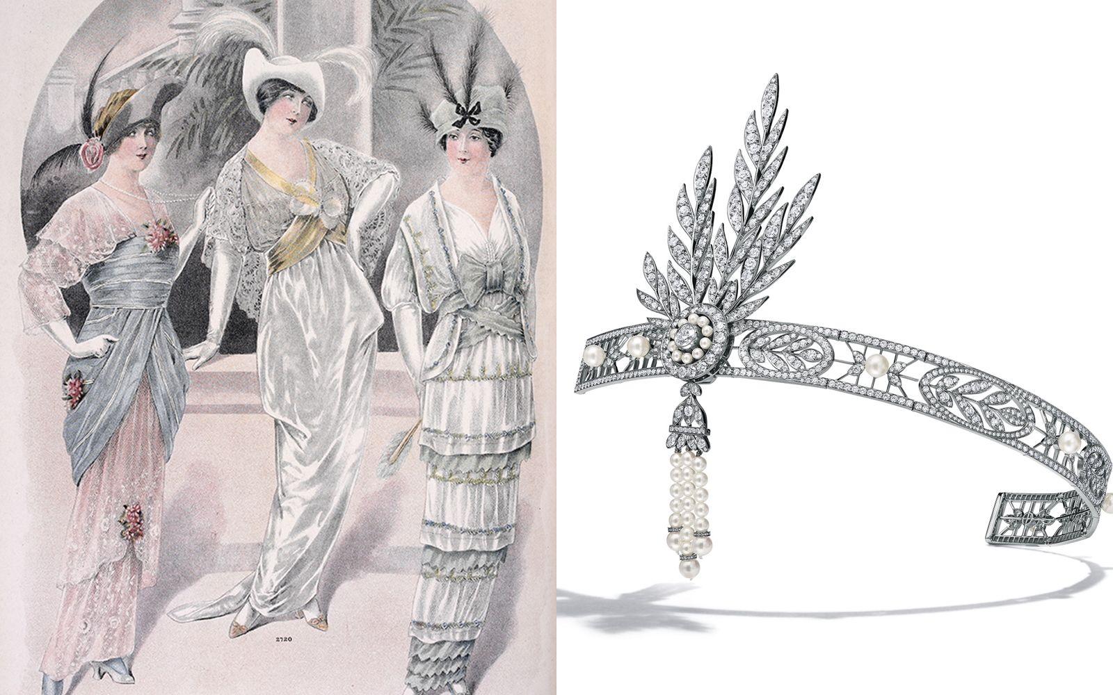 最美的年代、最美的珠寶,蝴蝶結、流蘇、羽飾⋯⋯當代珠寶如何再繹美好年代時期珠寶經典元素