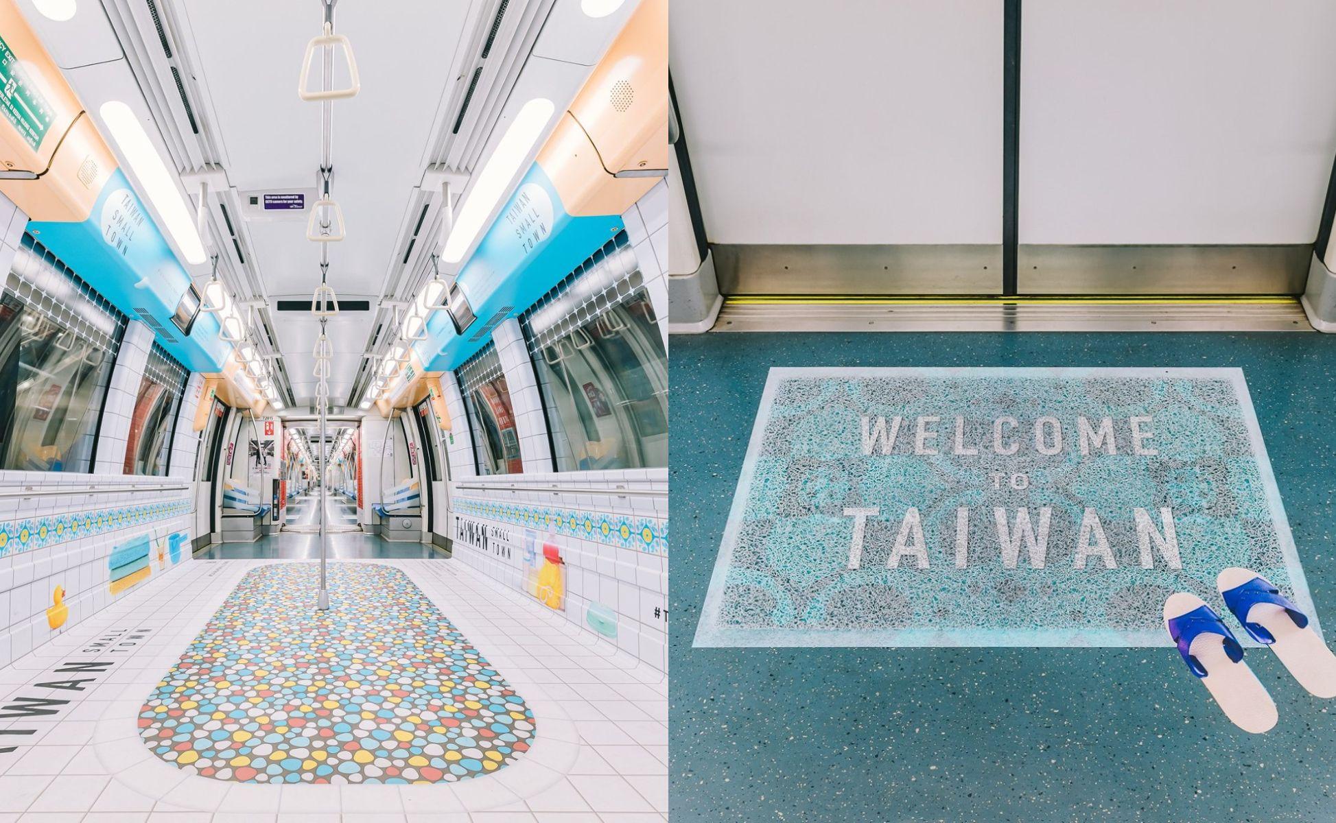 阿嬤家的回憶!台灣「古早味澡堂」登新加坡地鐵榮獲創意大獎,結合馬賽克磁磚、藍白拖、鐵窗花...精準還原在地台灣味!