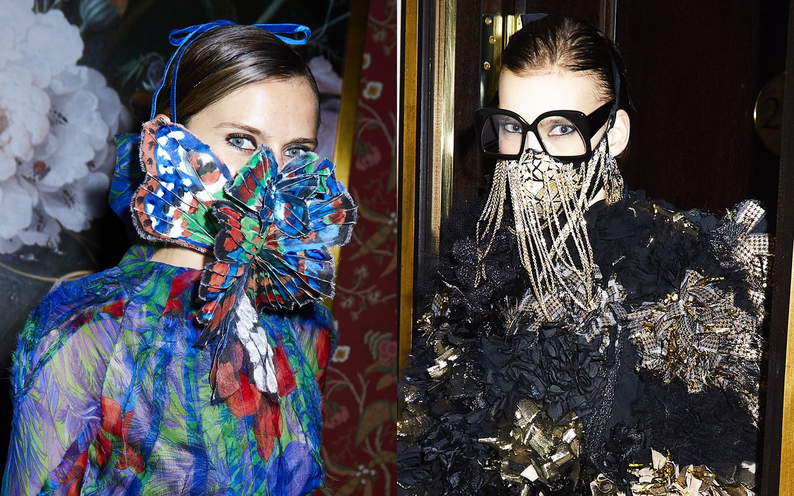 宛如藝術品般的口罩!荷蘭設計師Ronald van der Kemp聯手佳士得Christie's舉行慈善拍賣,29款時尚訂製口罩化作永續宣言