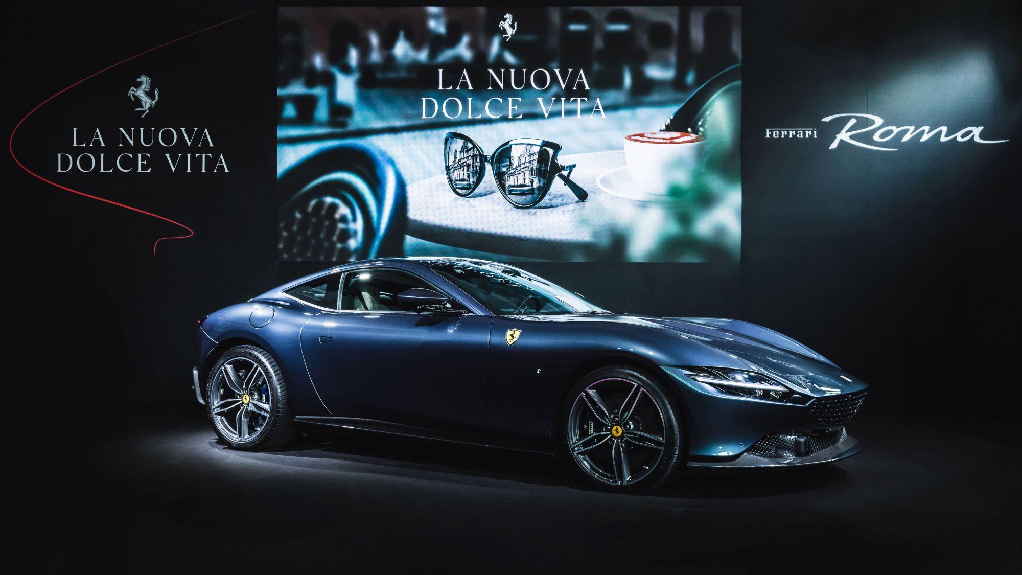用前所未有的優雅 重新定義你的日常車駕,全新GT跑車Ferrari Roma帶你徜徉義式生活美學