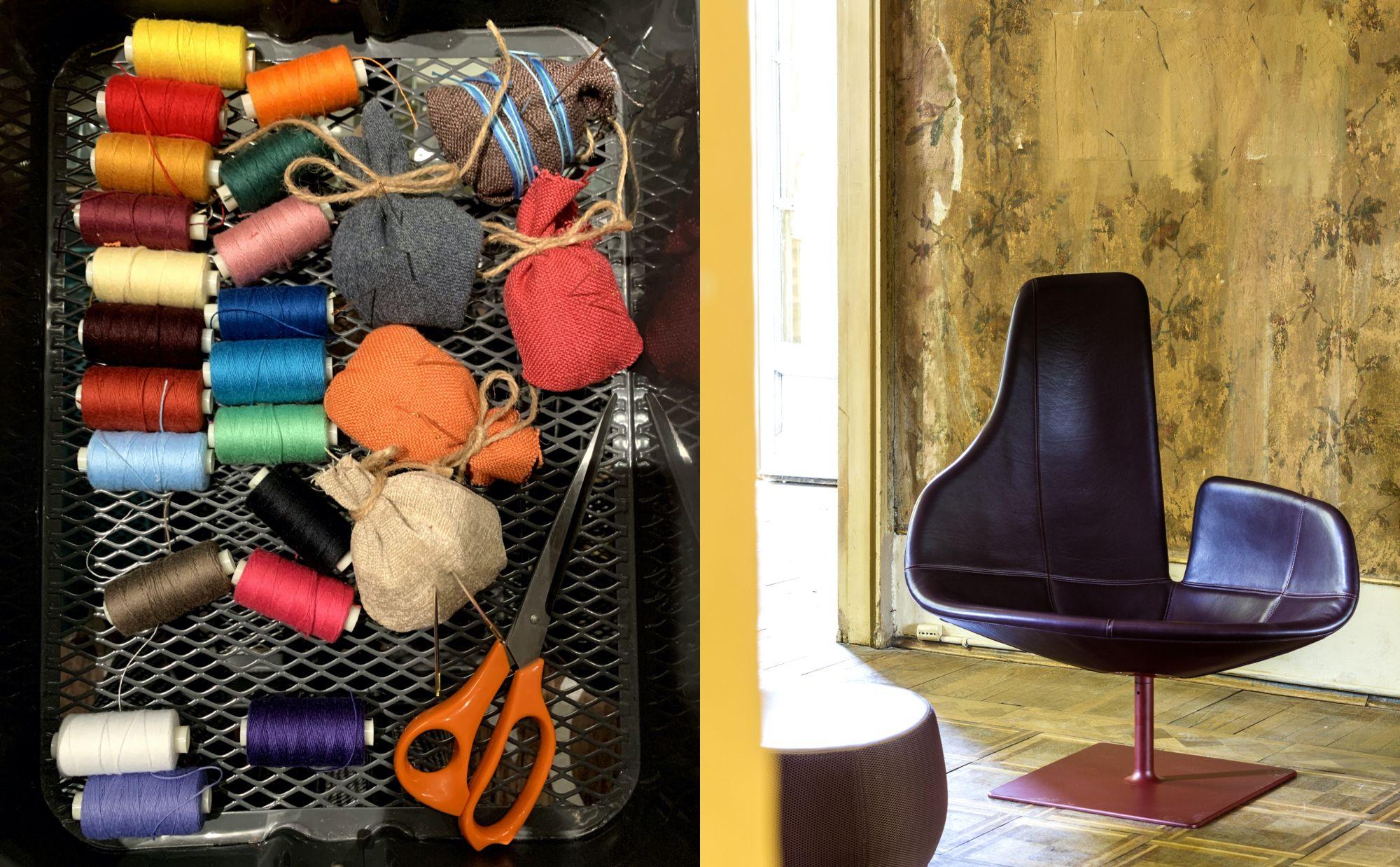 全台25位首席室內設計師齊聚一堂發揮創意!「家具界的高級訂製服」Moroso小椅子創作活動在寬庭