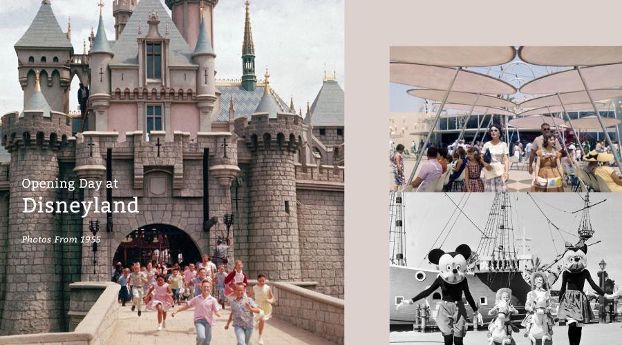 穿梭 60 年的童年回憶 ,來自 1955 年的迪士尼樂園舊照片