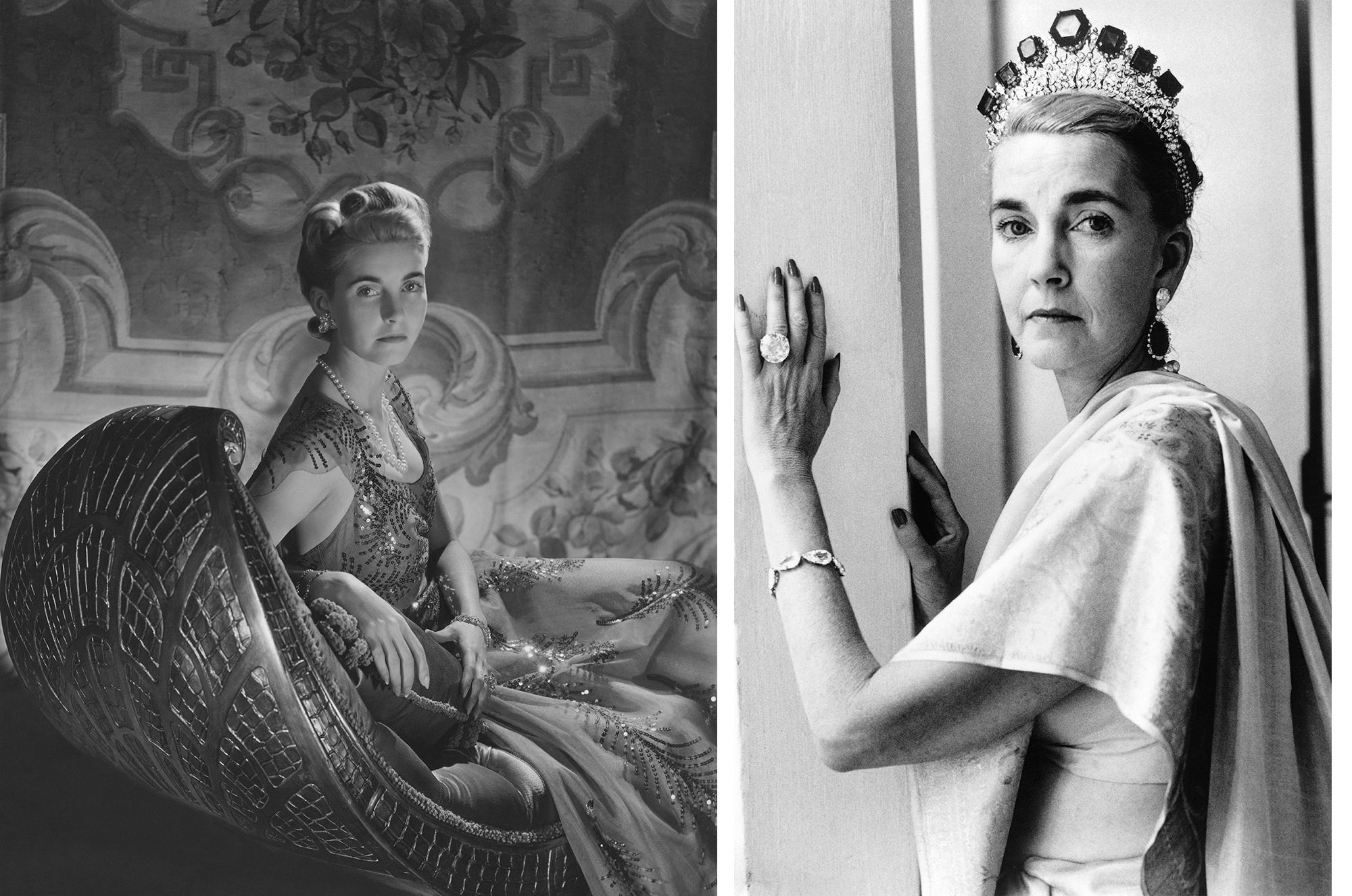 Countess Haugwitz-Reventlow (nee Barbara Hutton). (Photo by Horst P. Horst/Condé Nast via Getty Images)