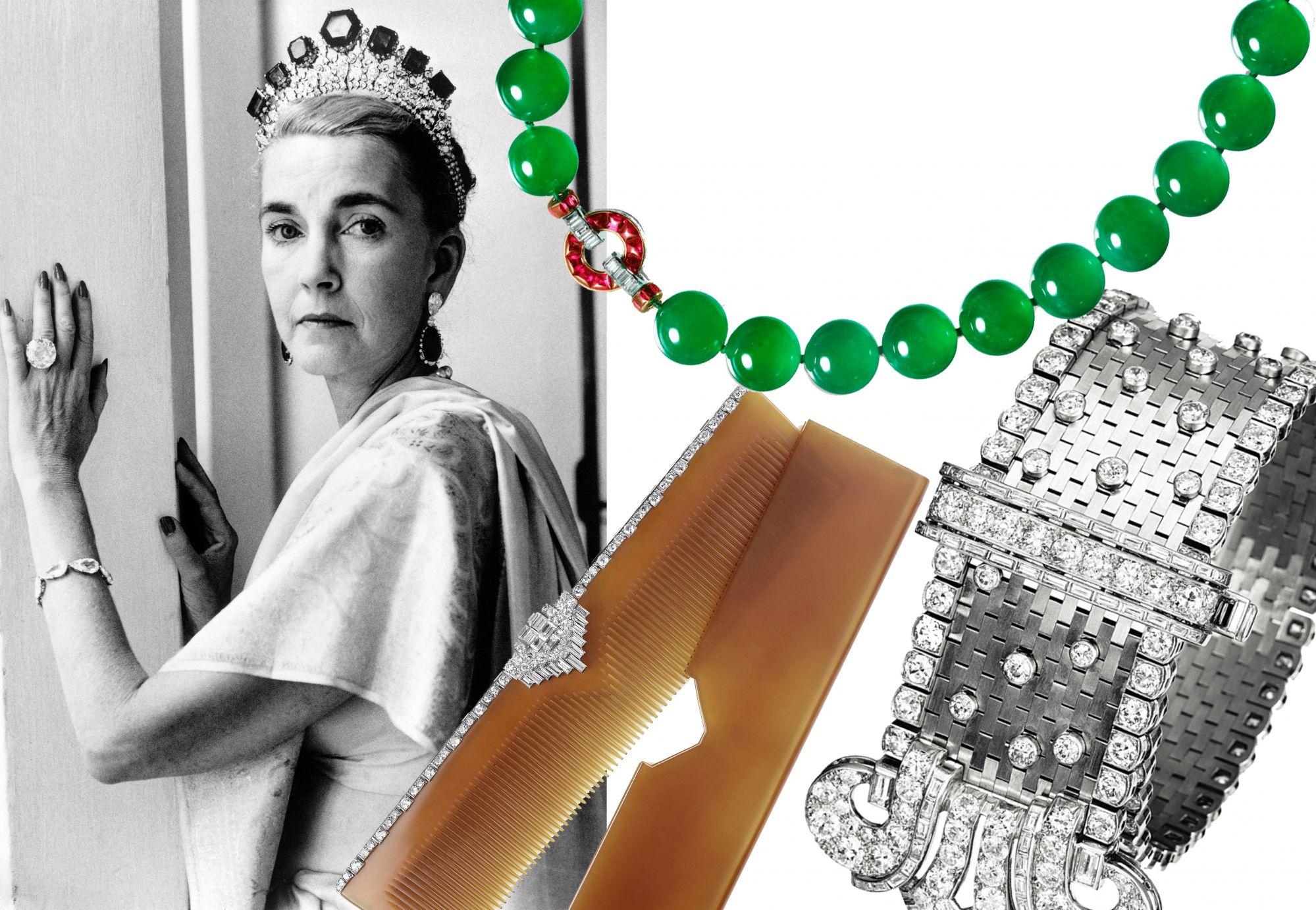 傳奇名媛芭芭拉赫頓的珠寶珍藏,鑽石髮梳、象牙相框⋯⋯每一件都是博物館等級臻品!