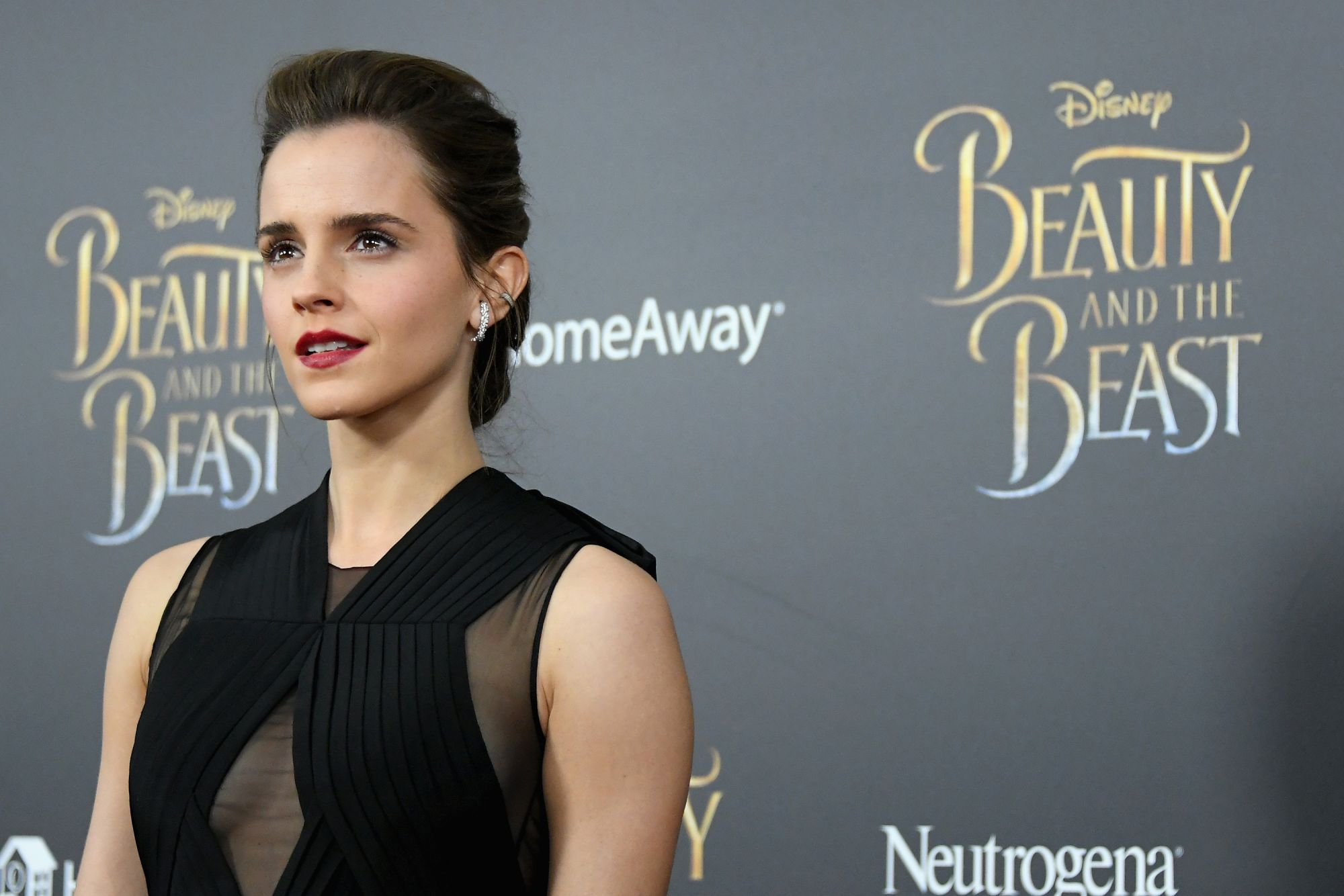"""NEW YORK, NY - MARCH 13:  Actress Emma Watson attends the """"Beauty And The Beast"""" New York Screening at Alice Tully Hall at Lincoln Center on March 13, 2017 in New York City.  (Photo by Mike Coppola/Getty Images)"""