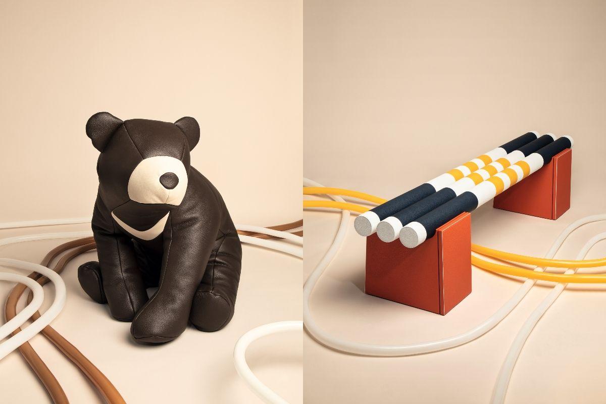 愛馬仕「petit h」十月再度登台!200萬長凳、黑熊懶骨頭......最具童心設計系列於BELLAVITA限時展出