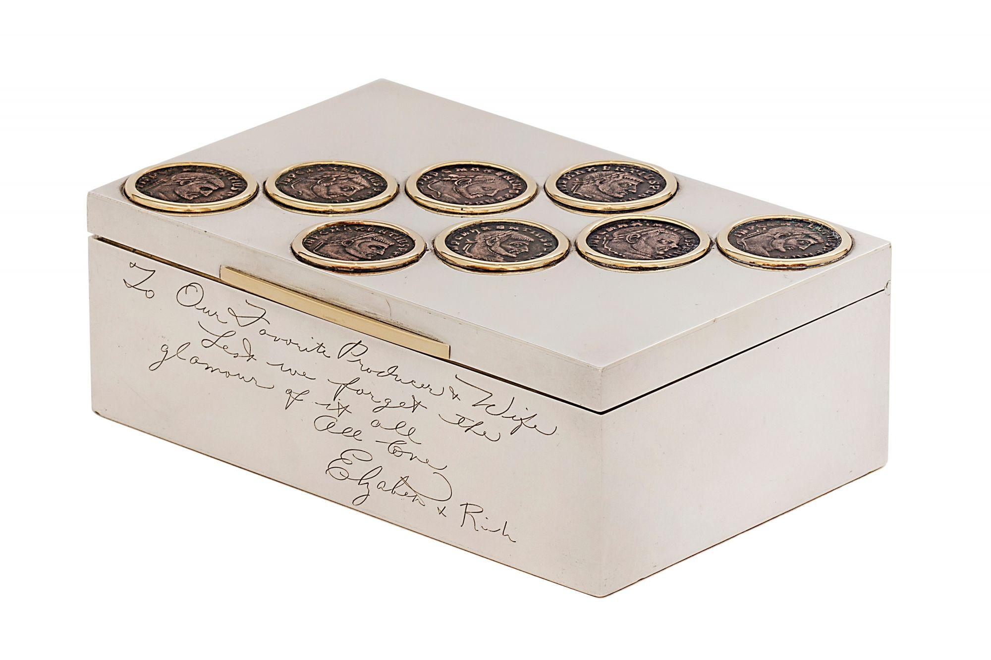 Heritage典藏系列Monete古幣菸盒,1962年by Bulgari。