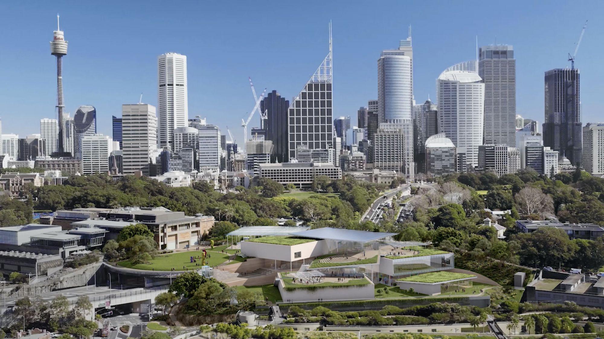 2022下半年完工!澳洲全新藝術打卡點 新南威爾士藝術博物館新館 由普利茲克建築獎得主操刀