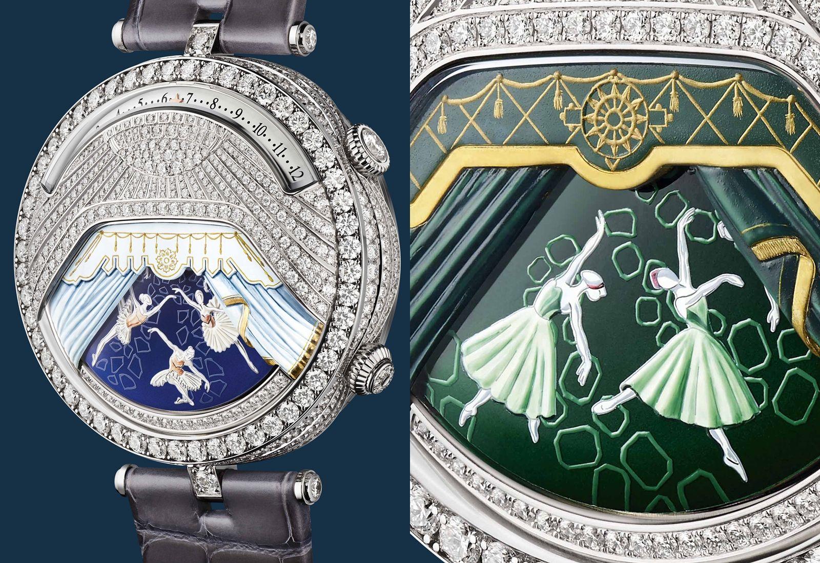首枚結合音樂與動畫的腕錶!Van Cleef & Arpels讓芭蕾舞伶在錶盤上舞出經典舞劇