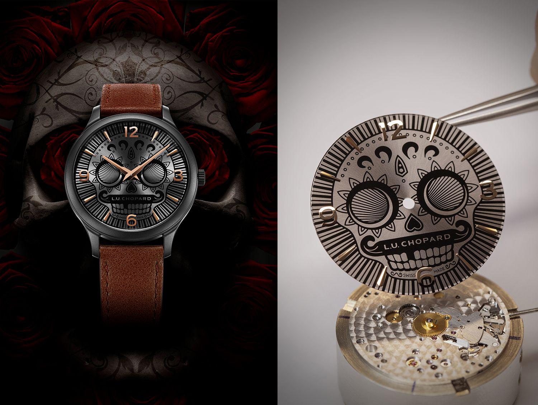 萬聖節戴這隻錶最酷!蕭邦推L.U.C Skull One墨西哥骷髏腕錶