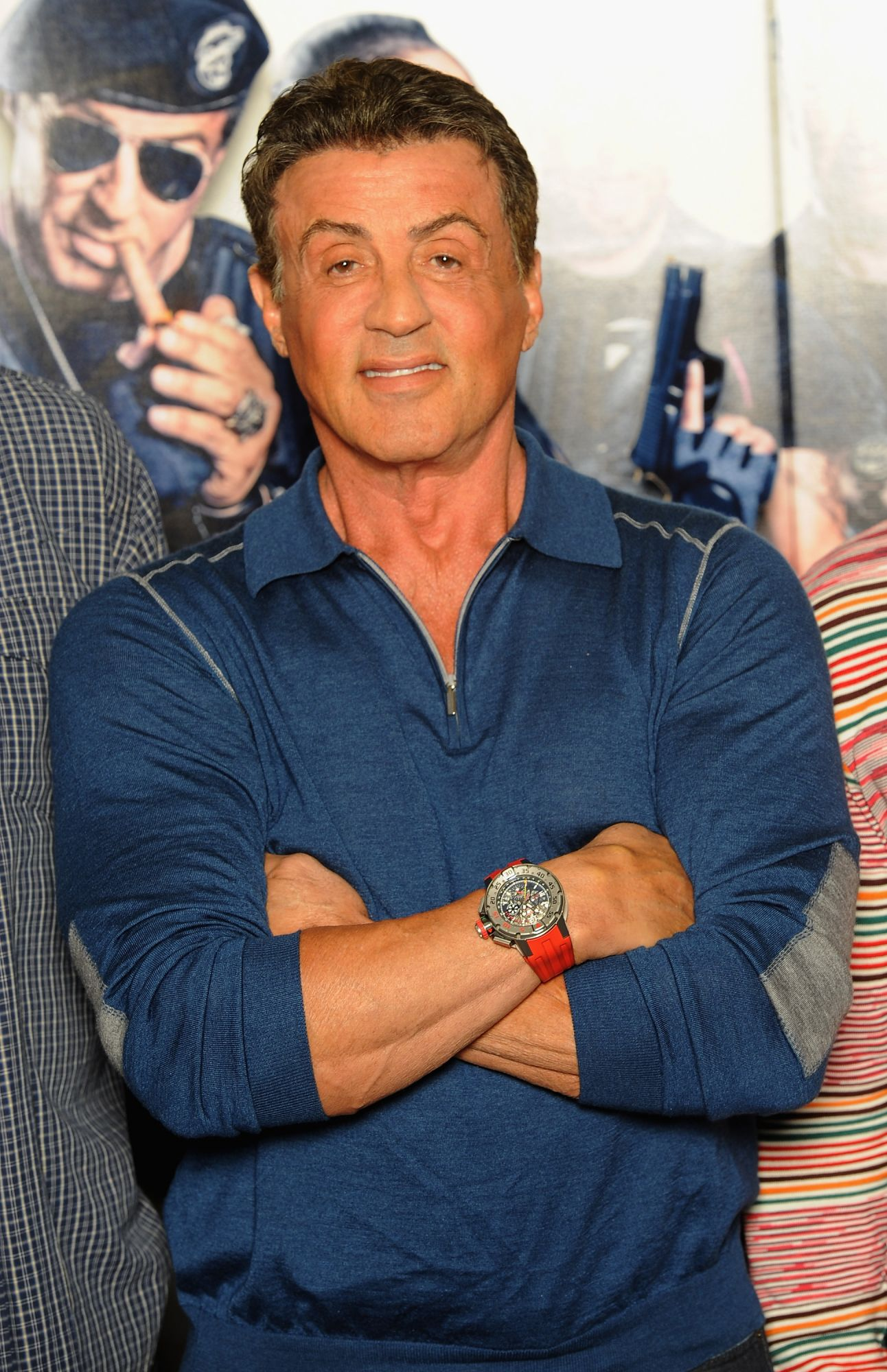 LONDON, ENGLAND - AUGUST 04:  Sylvester Stallone attends \