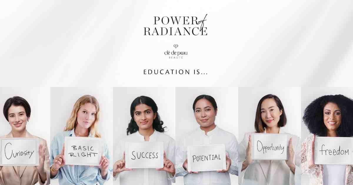 號召全球6位傑出女力齊為女童教育發聲!