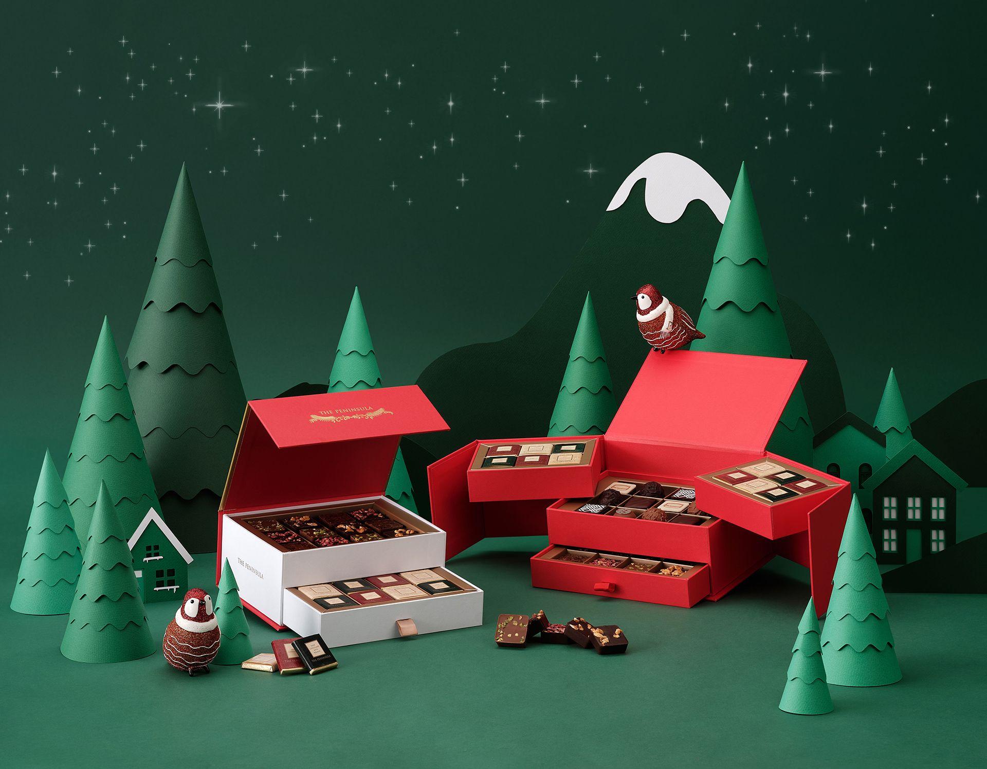半島精品店推巧克力禮盒。