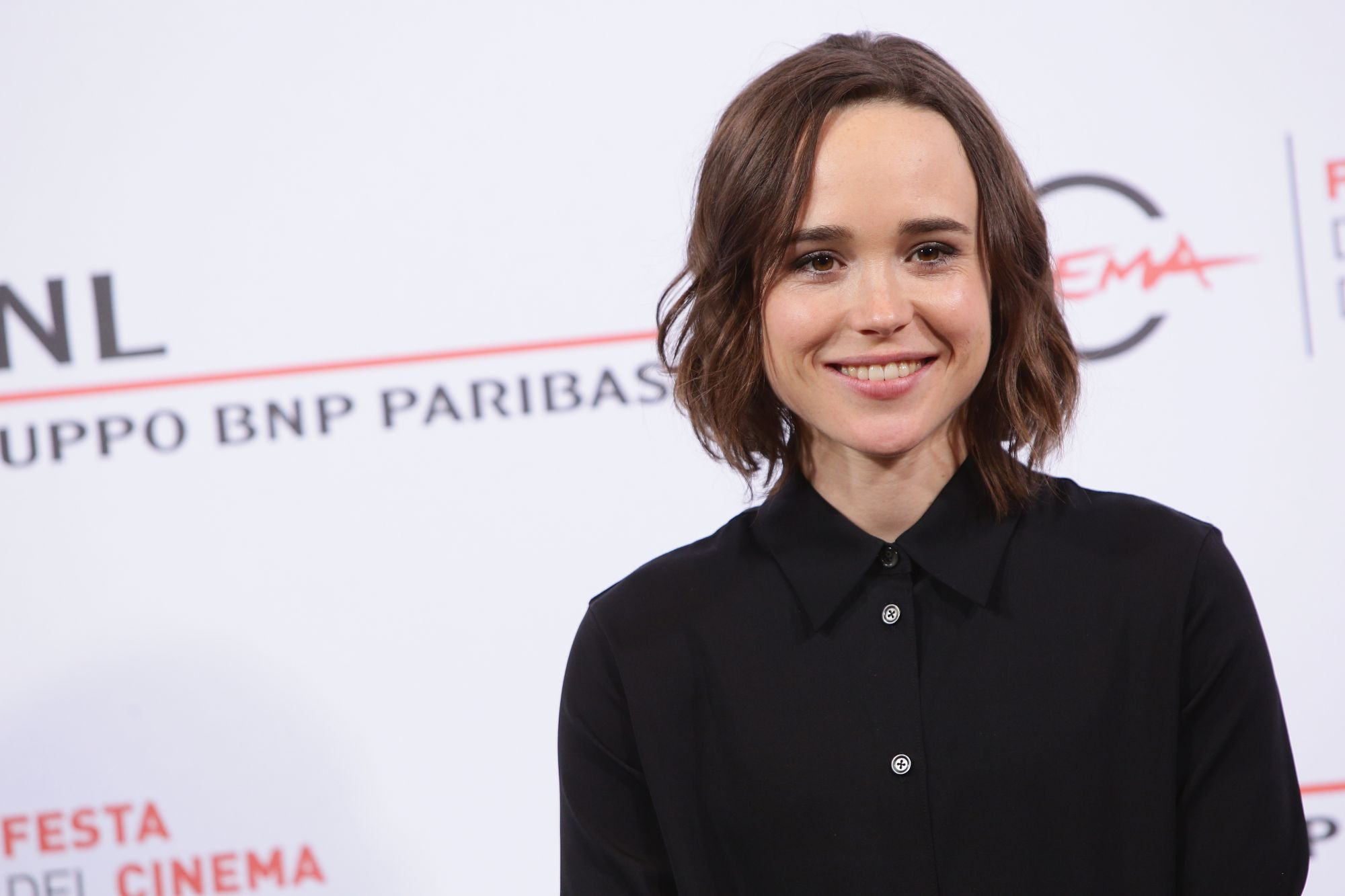 ROME, ITALY - OCTOBER 18:  Ellen Page attends a photocall for 'Freeheld' during the 10th Rome Film Fest on October 18, 2015 in Rome, Italy.  (Photo by Vittorio Zunino Celotto/Getty Images)