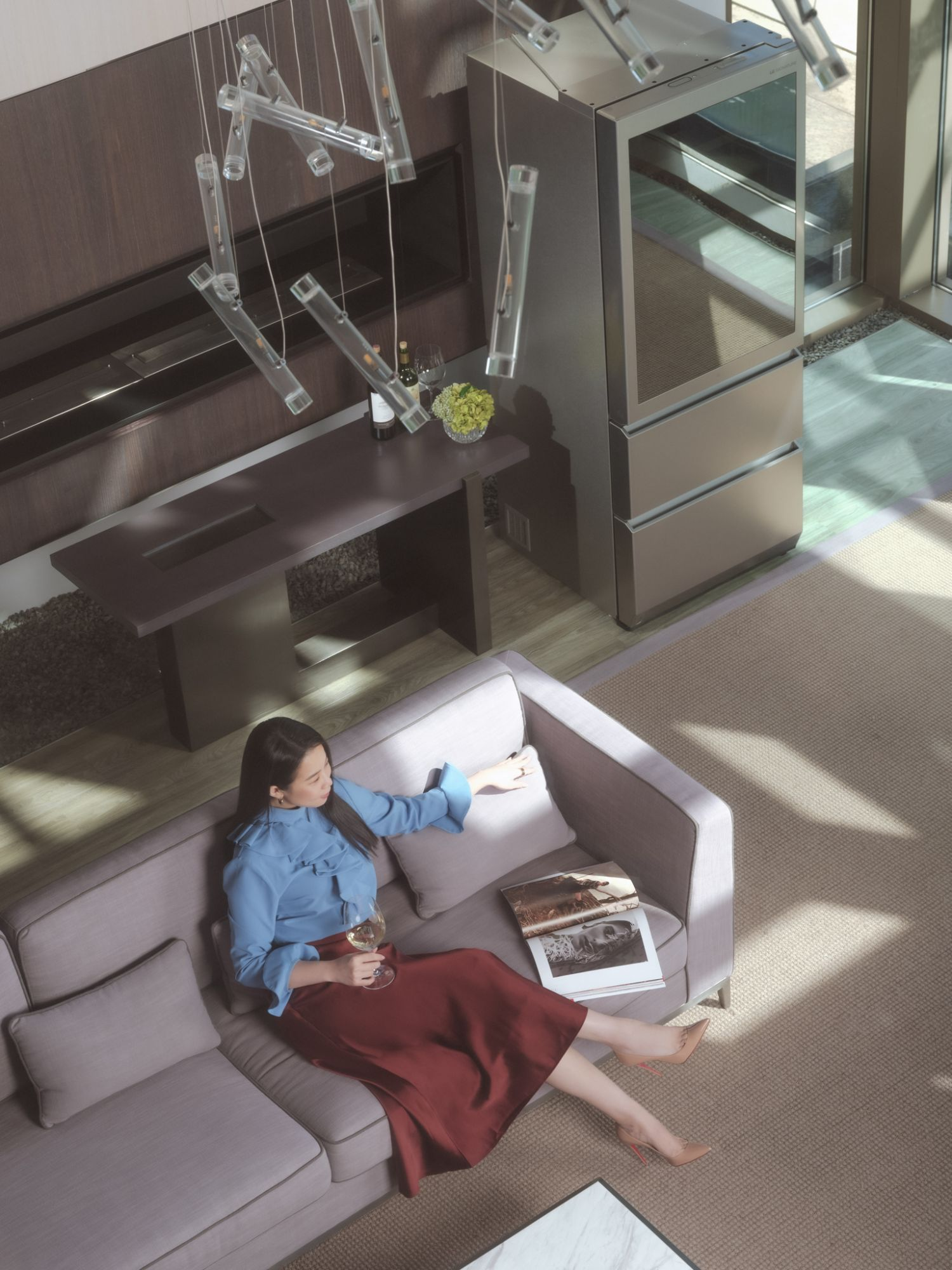 Tatler Taiwan 總編李瑜對於居家環境的堅持,須兼具美感和實用性 — LG SIGNATURE 系列讓生活更便利舒適