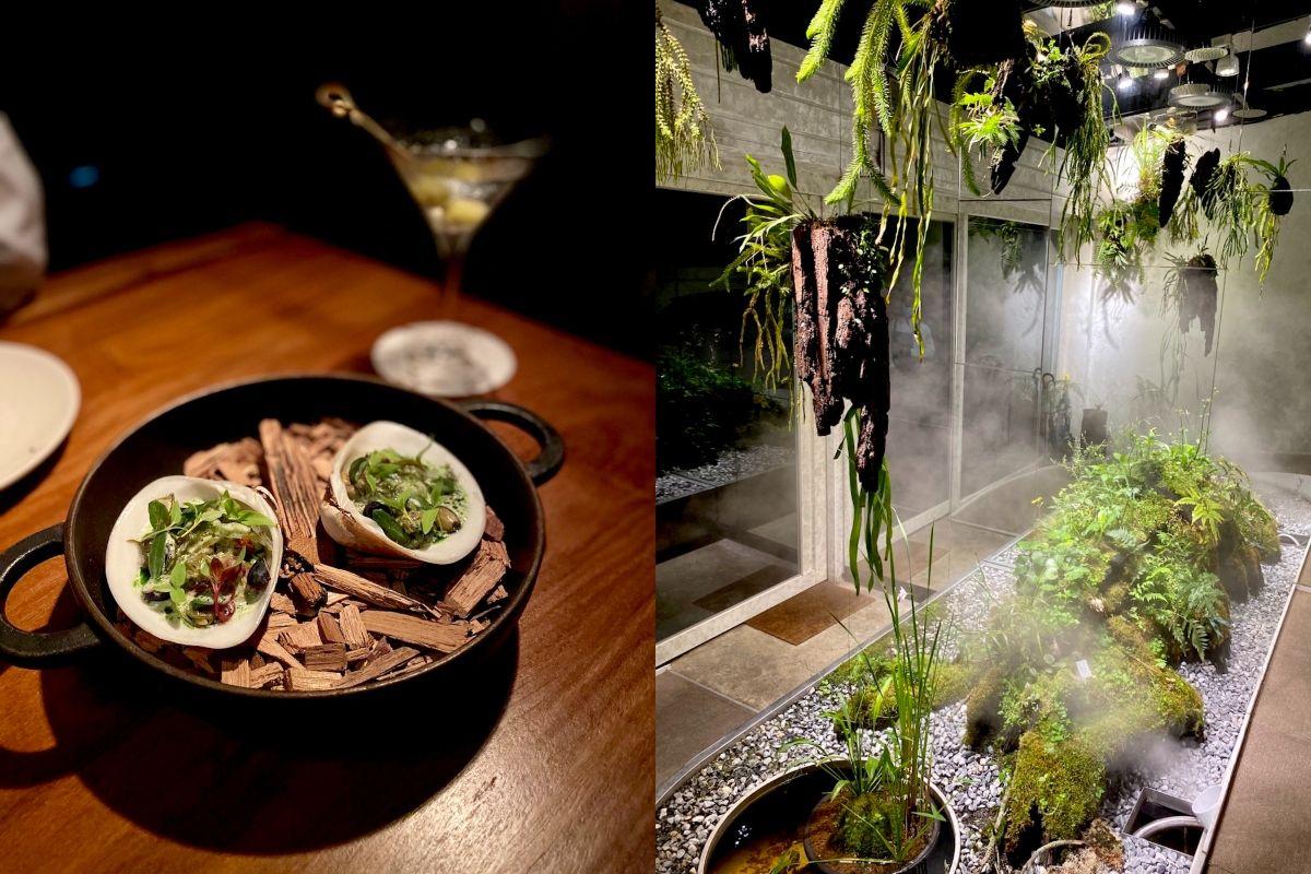 想吃飯,先穿過森林!VG 集團全新力作:從餐酒到裝潢都要自然到底的餐廳 VG Encore