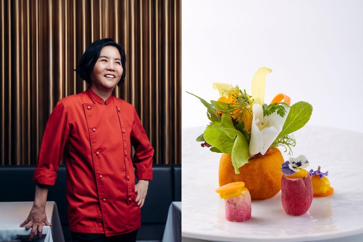 把台灣的美吃下肚!米其林餐廳鹽之華用 50 種蔬菜設計法式蔬菜套餐