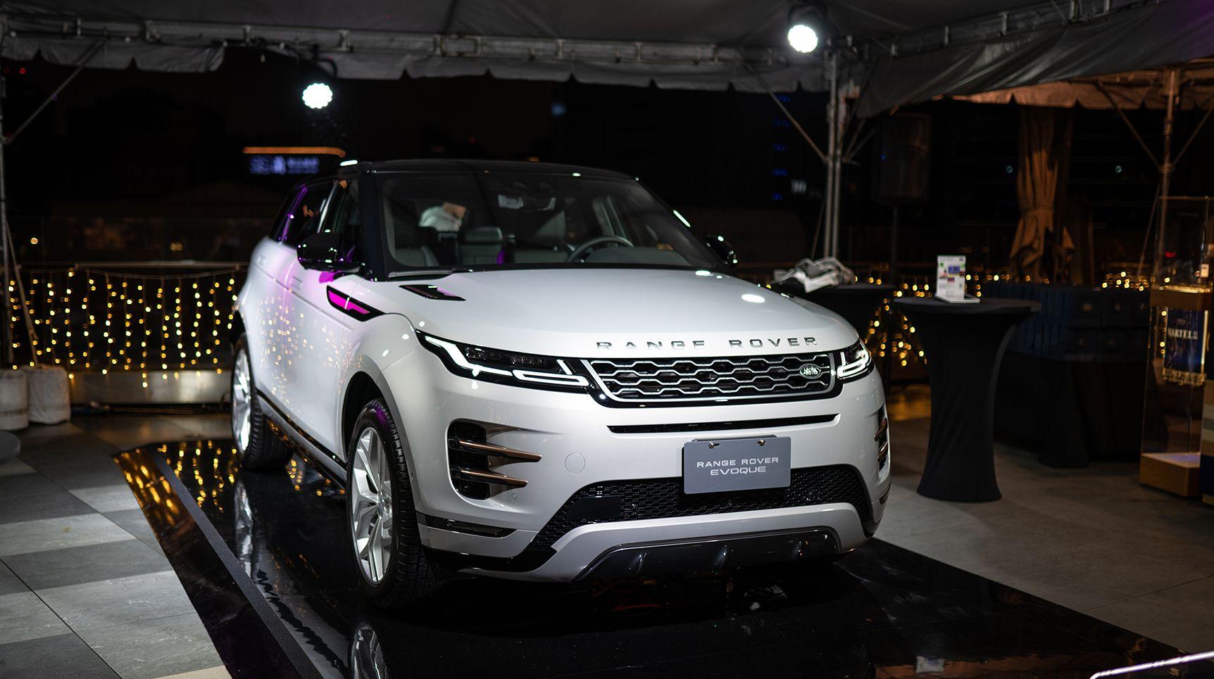 Off Menu Taiwan盛會的賞玩亮點—New Range Rover Evoque 無意放閃卻自成焦點!