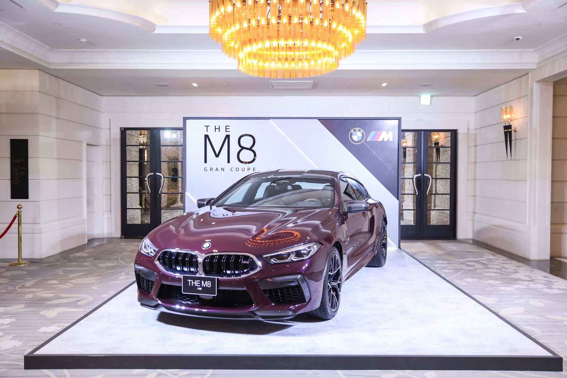 頂尖層峰人士指定坐騎,地表最強王者BMW M8 Gran Coupe成功奪取2020 Tatler Ball全場焦點!