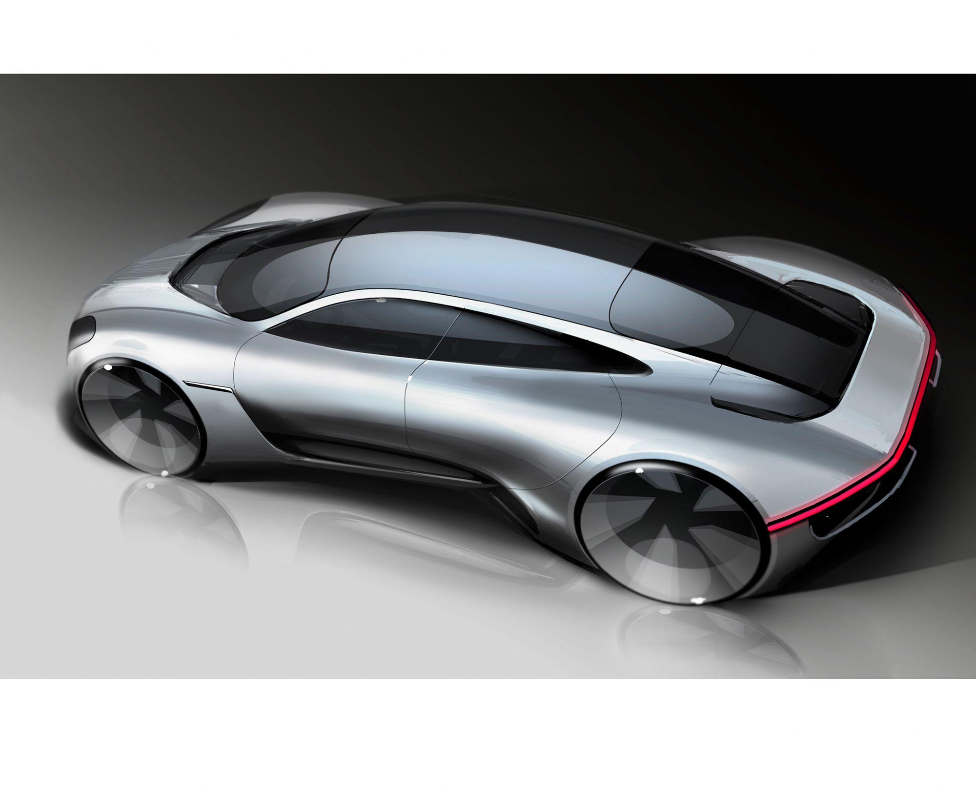 Porsche保時捷揭開Taycan電動車 原型車概念設計的神秘面紗