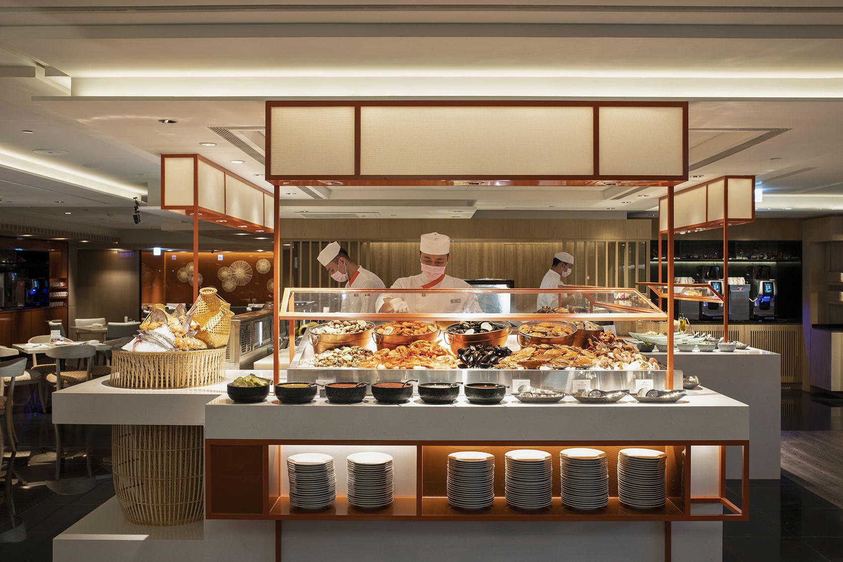 香格里拉台北遠東飯店的遠東 Café 自助餐廳重新改裝
