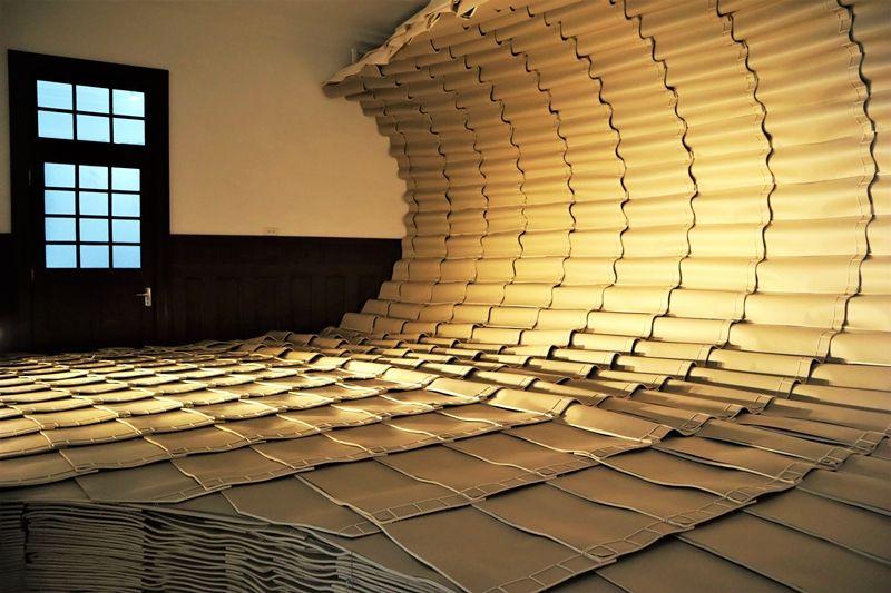 「重啟.未來閱讀」展覽,范承宗《讀海》。(圖片提供∕台灣設計研究院)