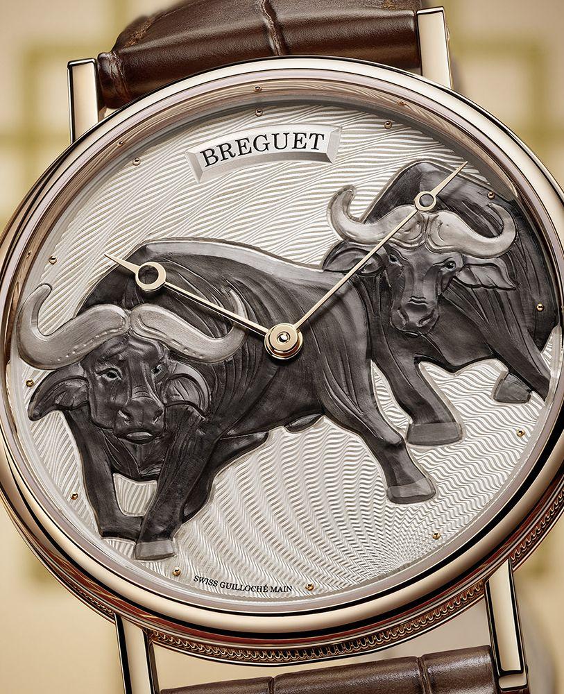 Classique 7145牛年腕錶,限量8只 by Breguet。
