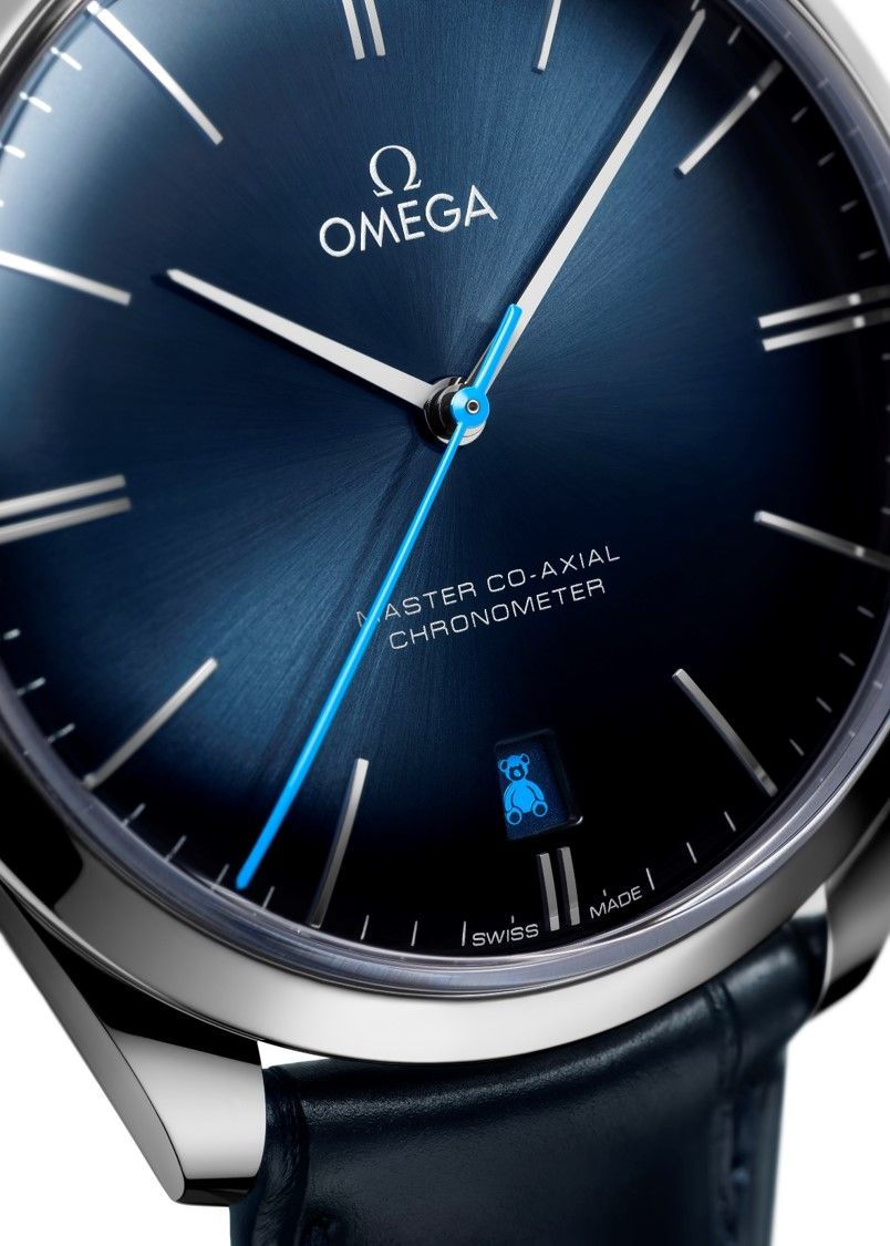 Omega Trésor奧比斯泰迪熊腕錶。