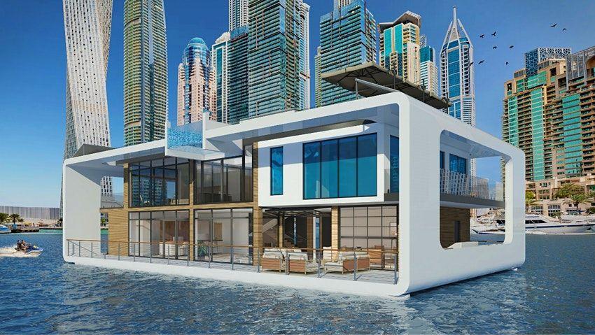 全世界最貴的水上度假村!耗資46億打造,杜拜「Sea Palace」超狂玻璃屋即將登場