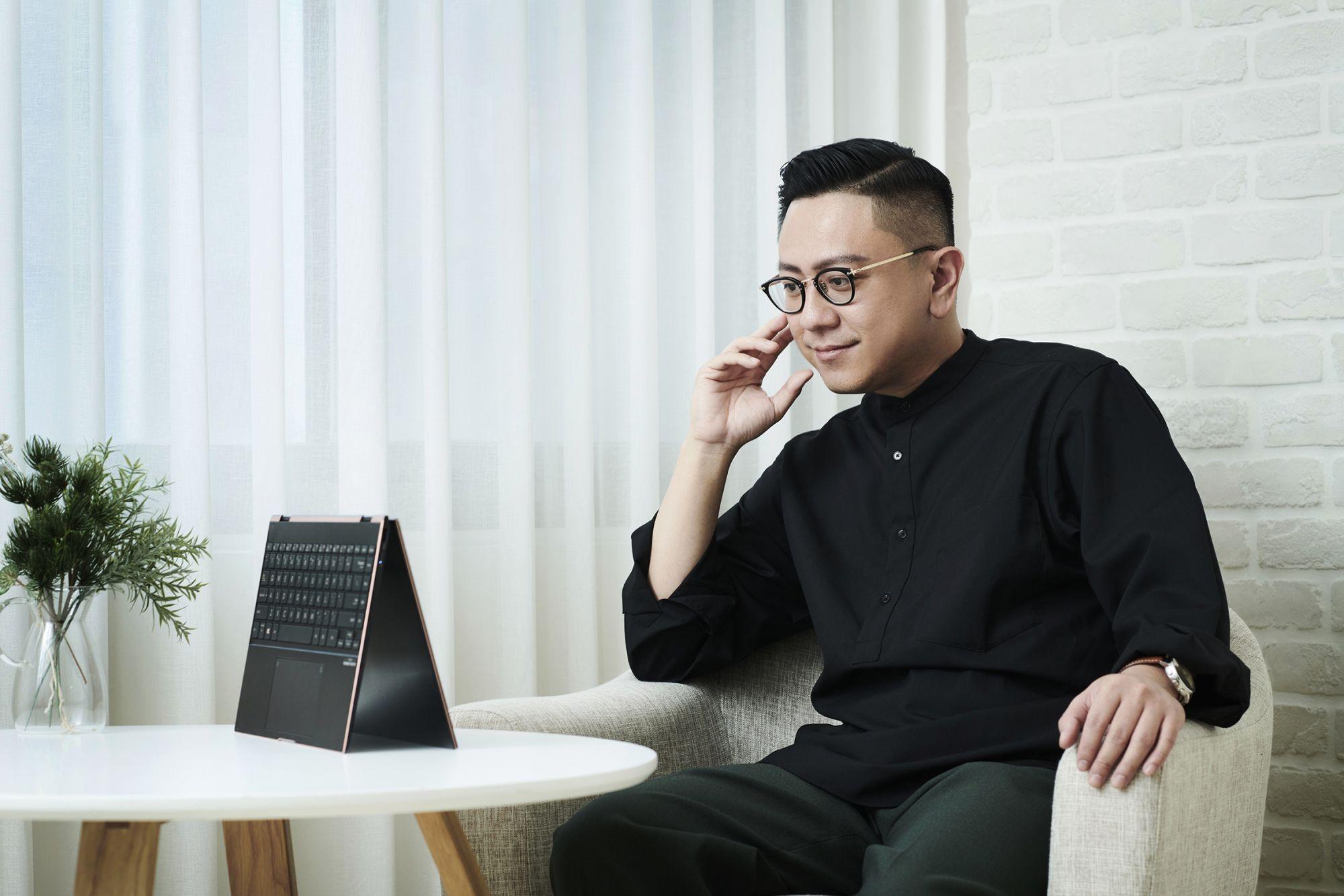 永心鳳茶執行長薛舜迪:ASUS ZenBook Flip S 助我體現能屈能伸的工作哲學,打造台灣飲食文化新風貌!
