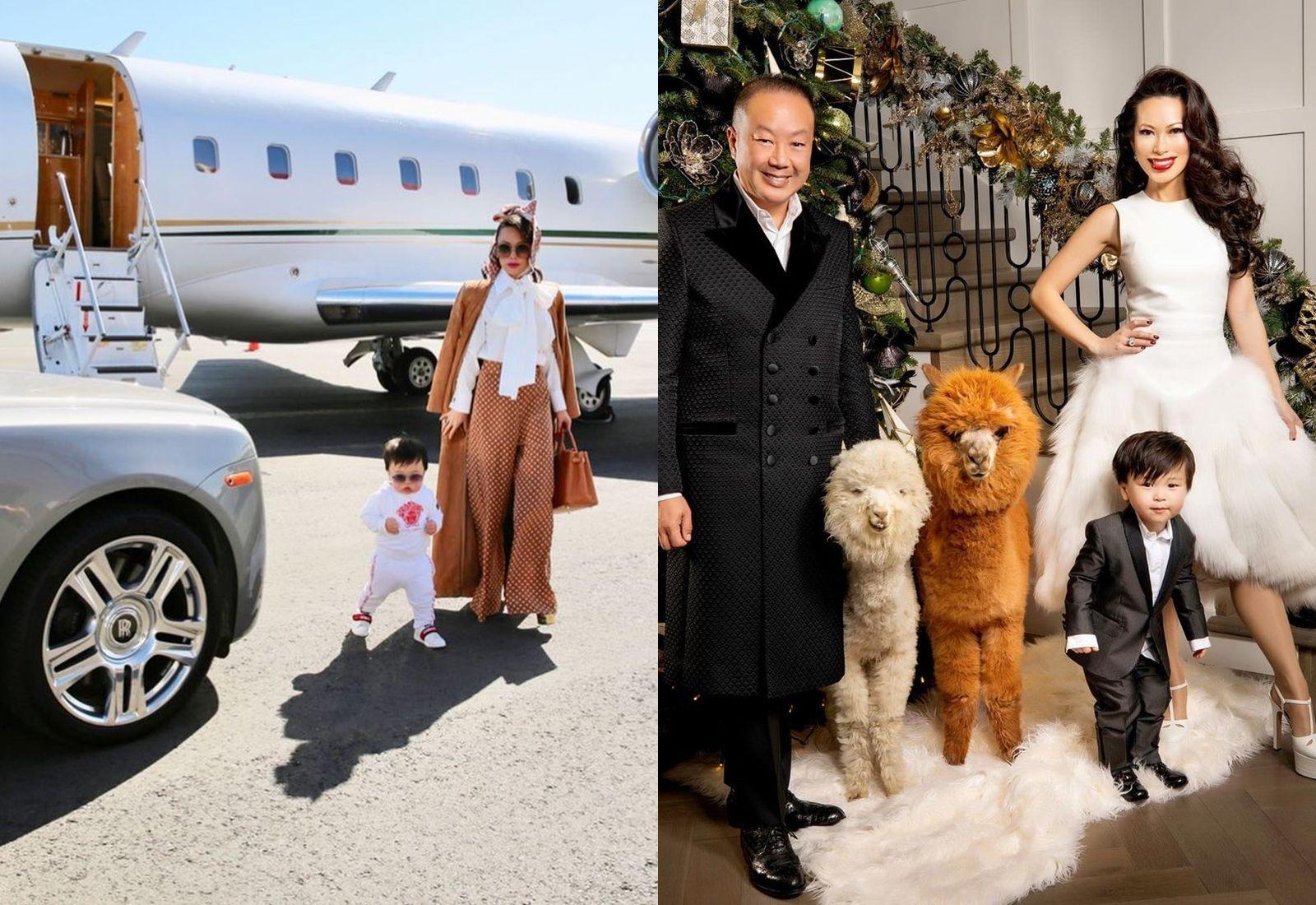 《璀璨帝國》上演瘋狂亞洲富豪真人版,寵物是羊駝、封街辦派對,老公還是中國皇朝後裔……3分鐘快速認識出生台灣的超級貴婦Christine Chiu