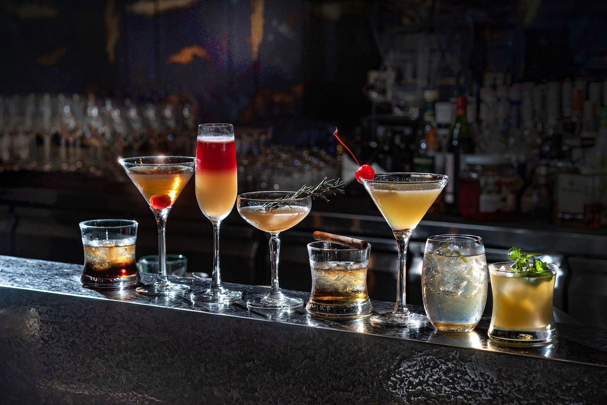微醺地圖新地標!台北國泰萬怡酒店Drift Lounge & Bar,高空俯瞰無邊際美景