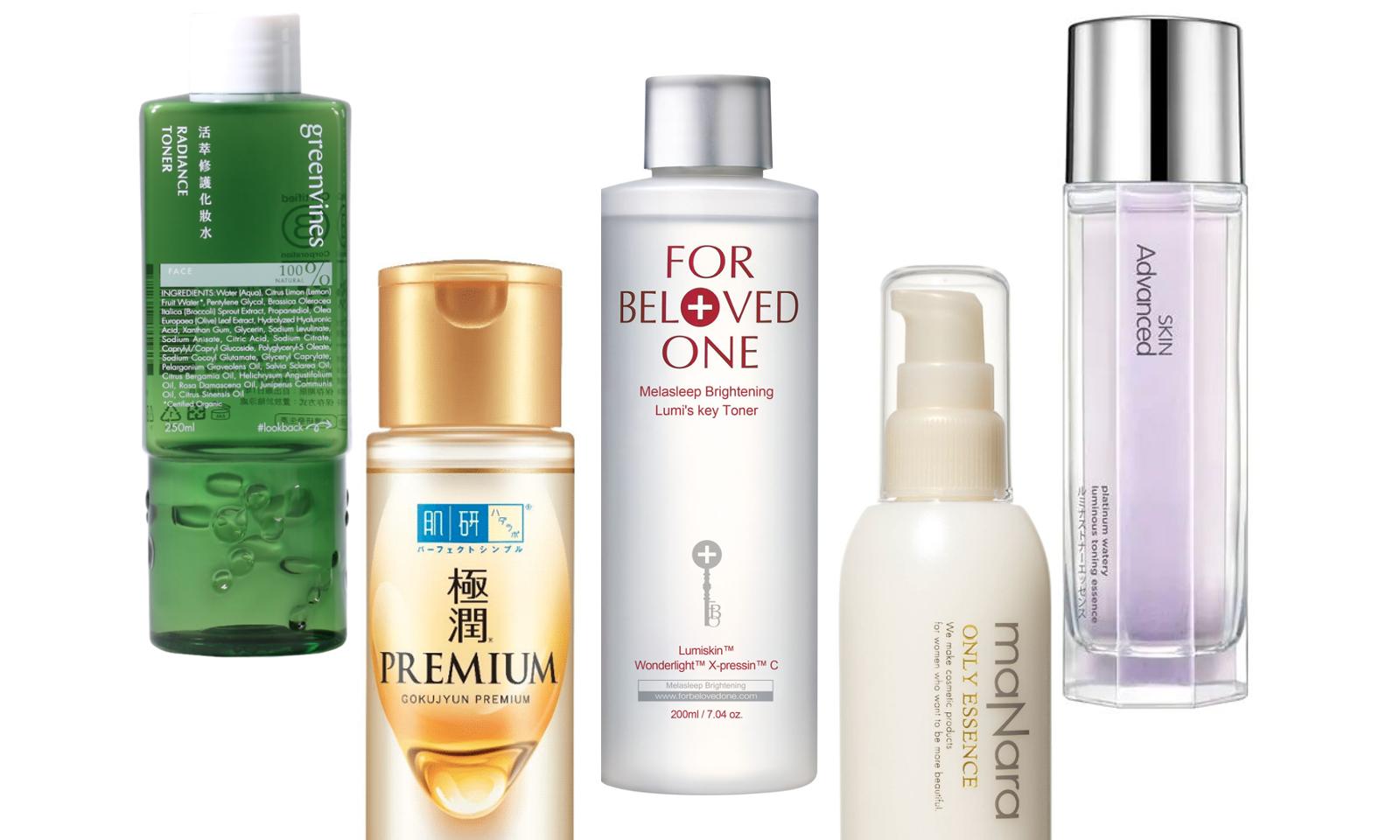 2021人氣開架一瓶多用化妝水推薦!現在公開美容圈的化妝水保養祕招!