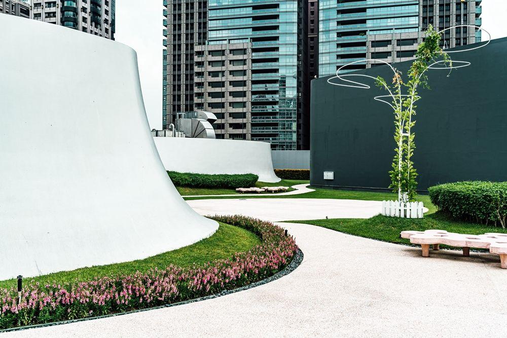 空中花園(圖片提供∕臺中國家歌劇院)(攝影:陳建豪)