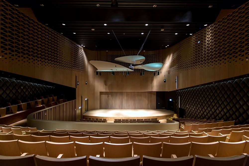 表演廳。(圖片提供∕衛武營國家藝術文化中心)