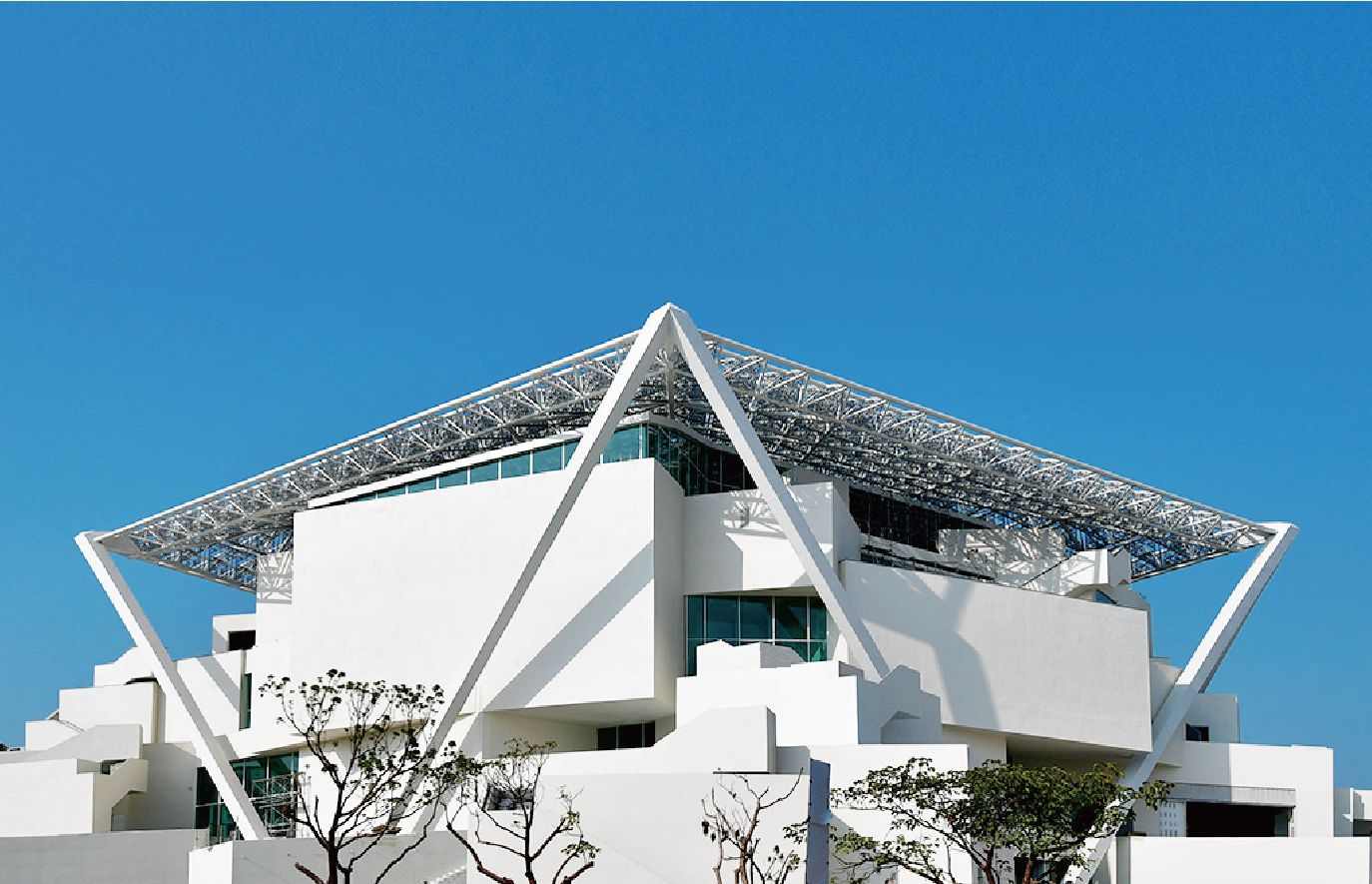 台南市美術館二館。(圖片取自南美館官網)