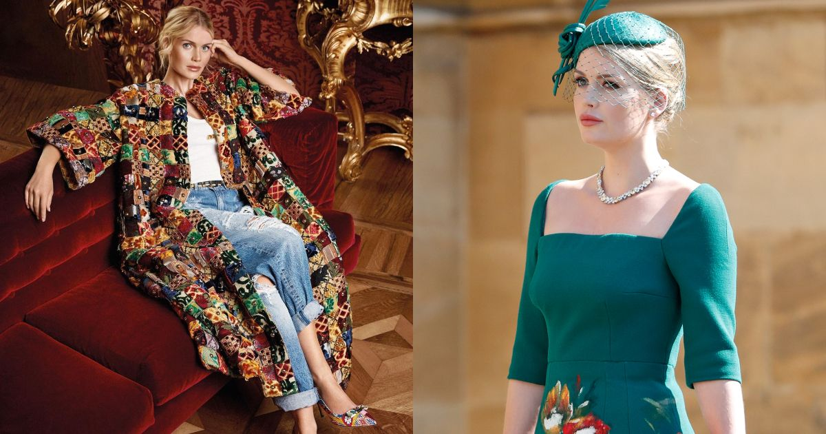 「英國最美皇室成員」、黛妃姪女 Kitty Spencer,成為第一位 Dolce & Gabbana 全球品牌大使