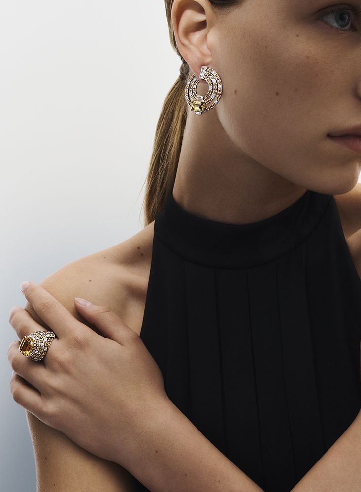 Louis Vuitton高級珠寶系列Stellar Times,Soleils (太陽)。
