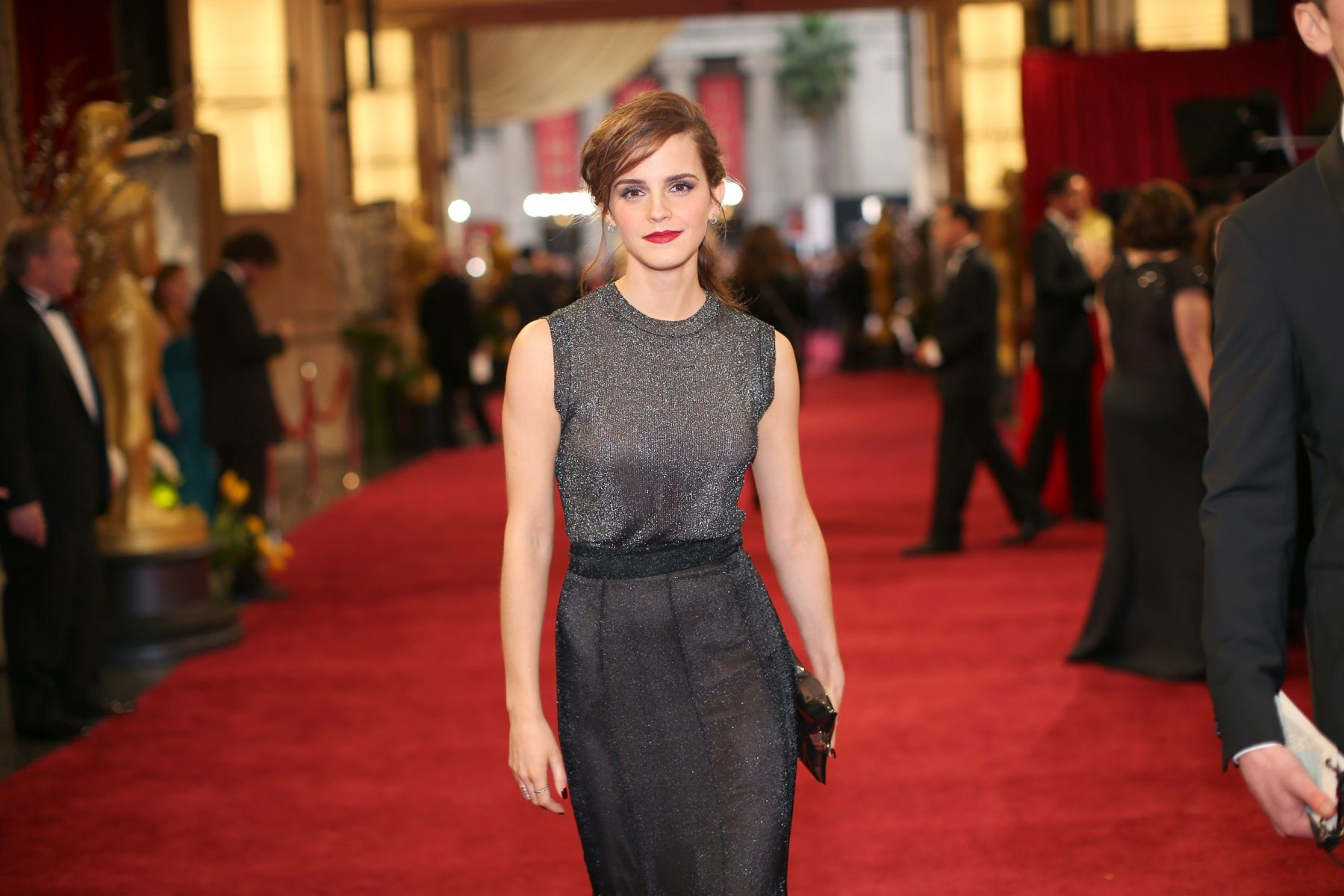 attends the Oscars at Hollywood & Highland Center on March 2, 2014 in Hollywood, California.