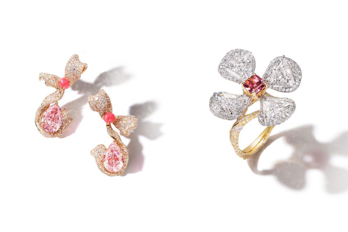 紅鑽與粉紅鑽的30億震撼奢華學 Cindy Chao The Art Jewel 搜羅寶石非凡之能