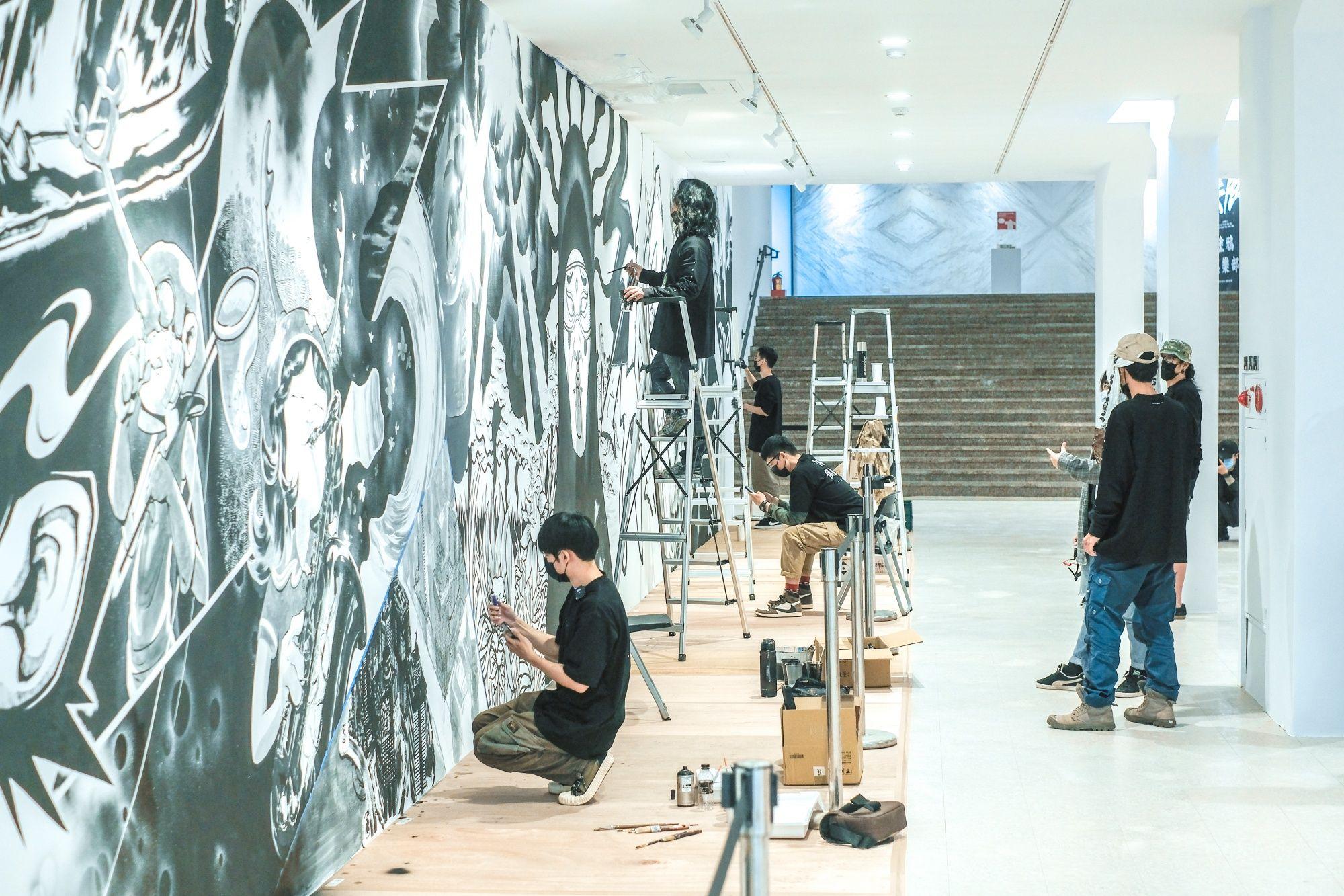 全台最潮展覽!《無限-塗鴉俱樂部》攜手 9 位藝術家創作,大規模展演街頭塗鴉!
