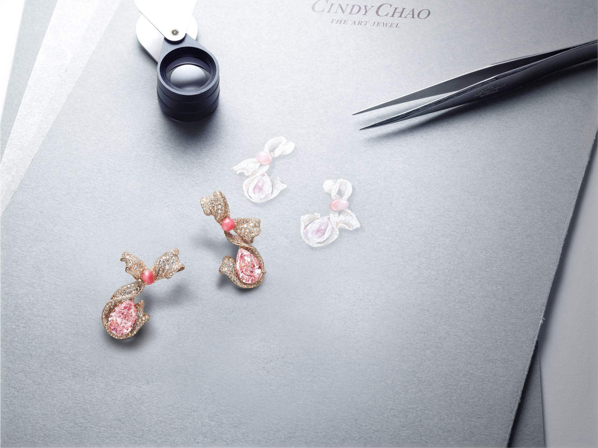 Cindy Chao近30億粉紅彩鑽系列來了!解析粉紅鑽珍貴的3大原因