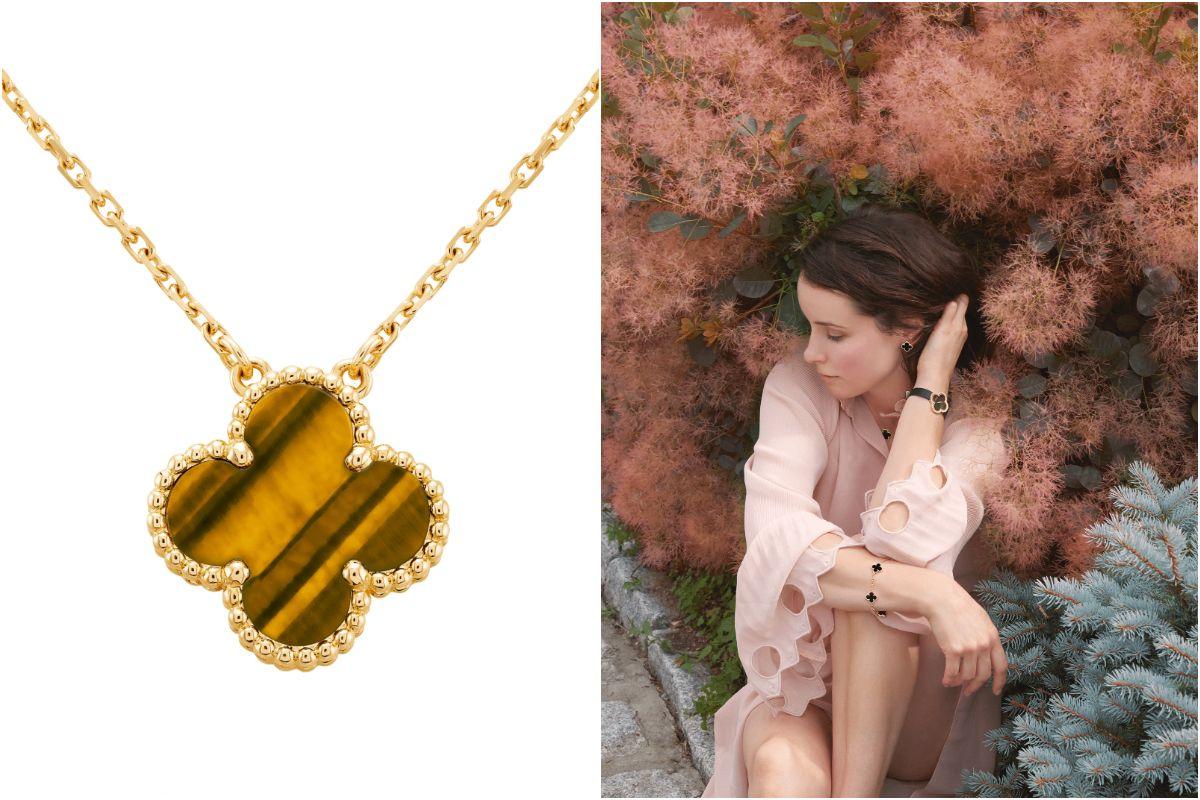 精品珠寶必收!Van Cleef & Arpels 四葉幸運珠寶,象徵四大標誌:健康、財富、愛情、榮譽,迎接盎然春意!