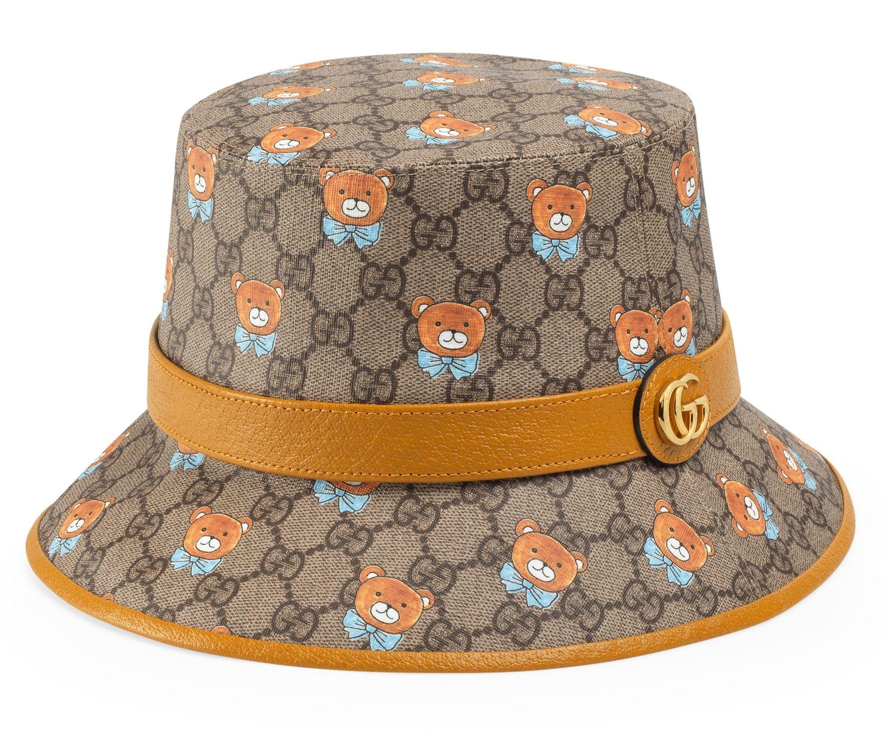 KAI x Gucci 聯名系列漁夫帽,建議售價 NT$16,900