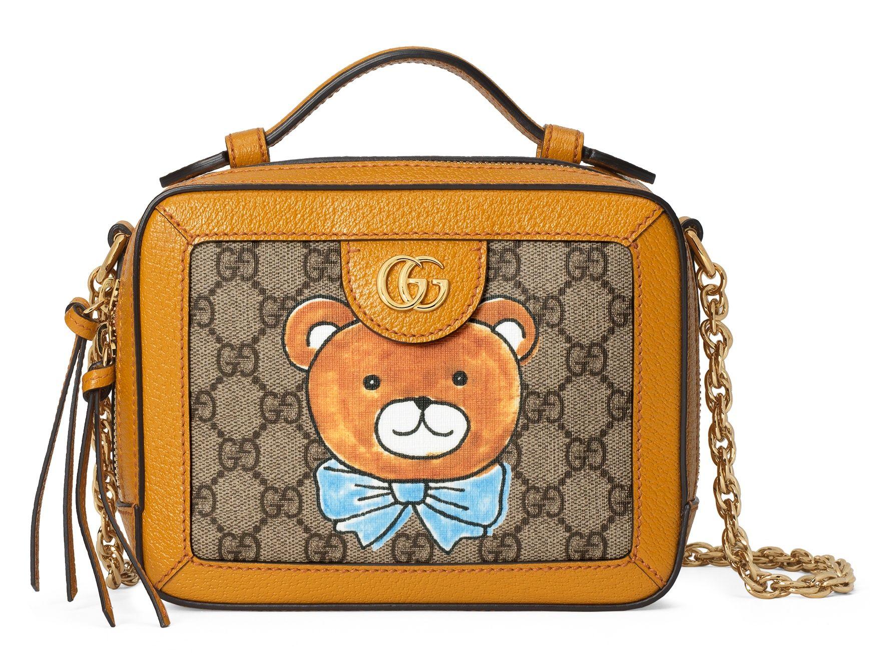 KAI x Gucci 聯名系列 方形肩背包,建議售價 NT$71,800