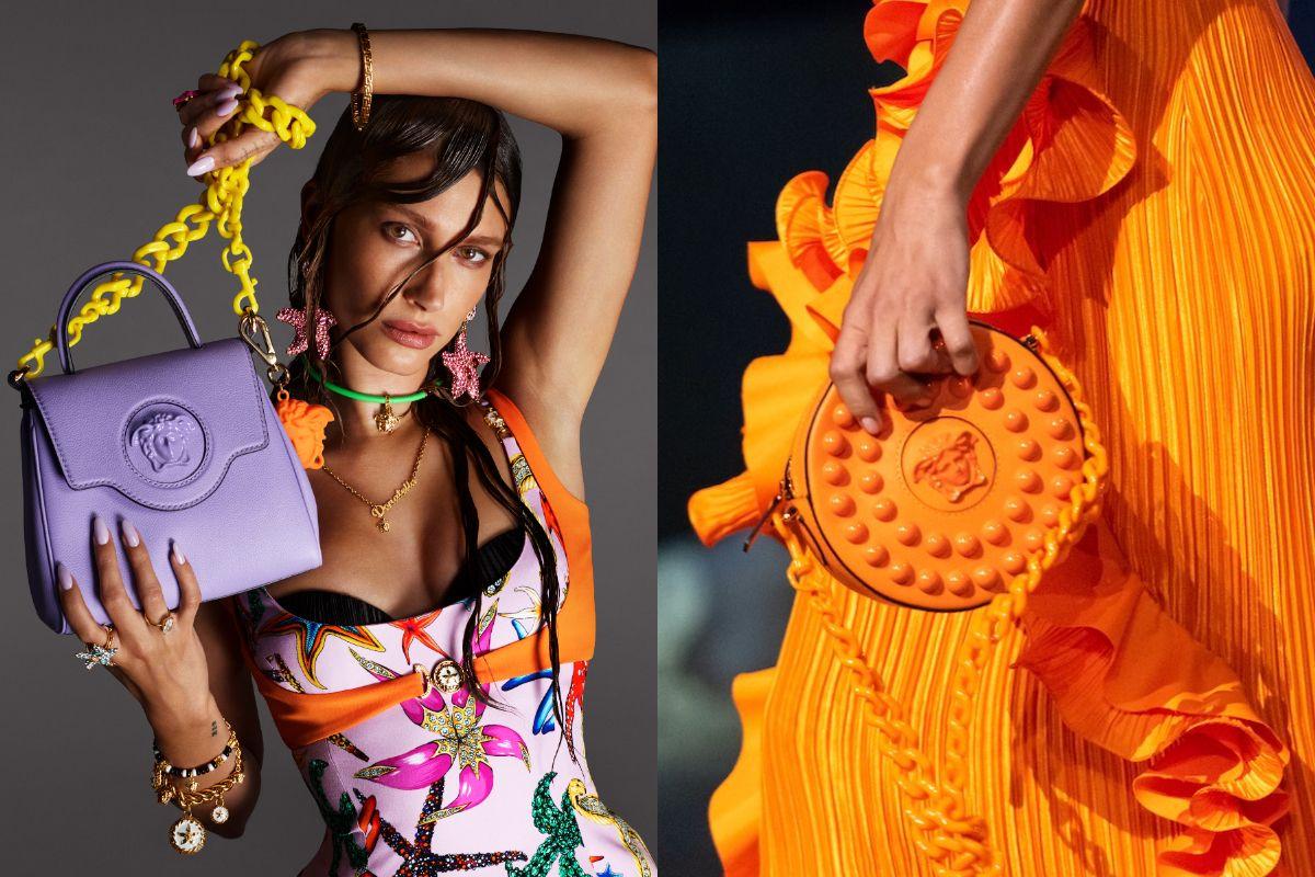 2021春夏Versace推出La Medusa系列包款,以「海底烏托邦」為題,展現奢華、豔麗及色彩魅力!