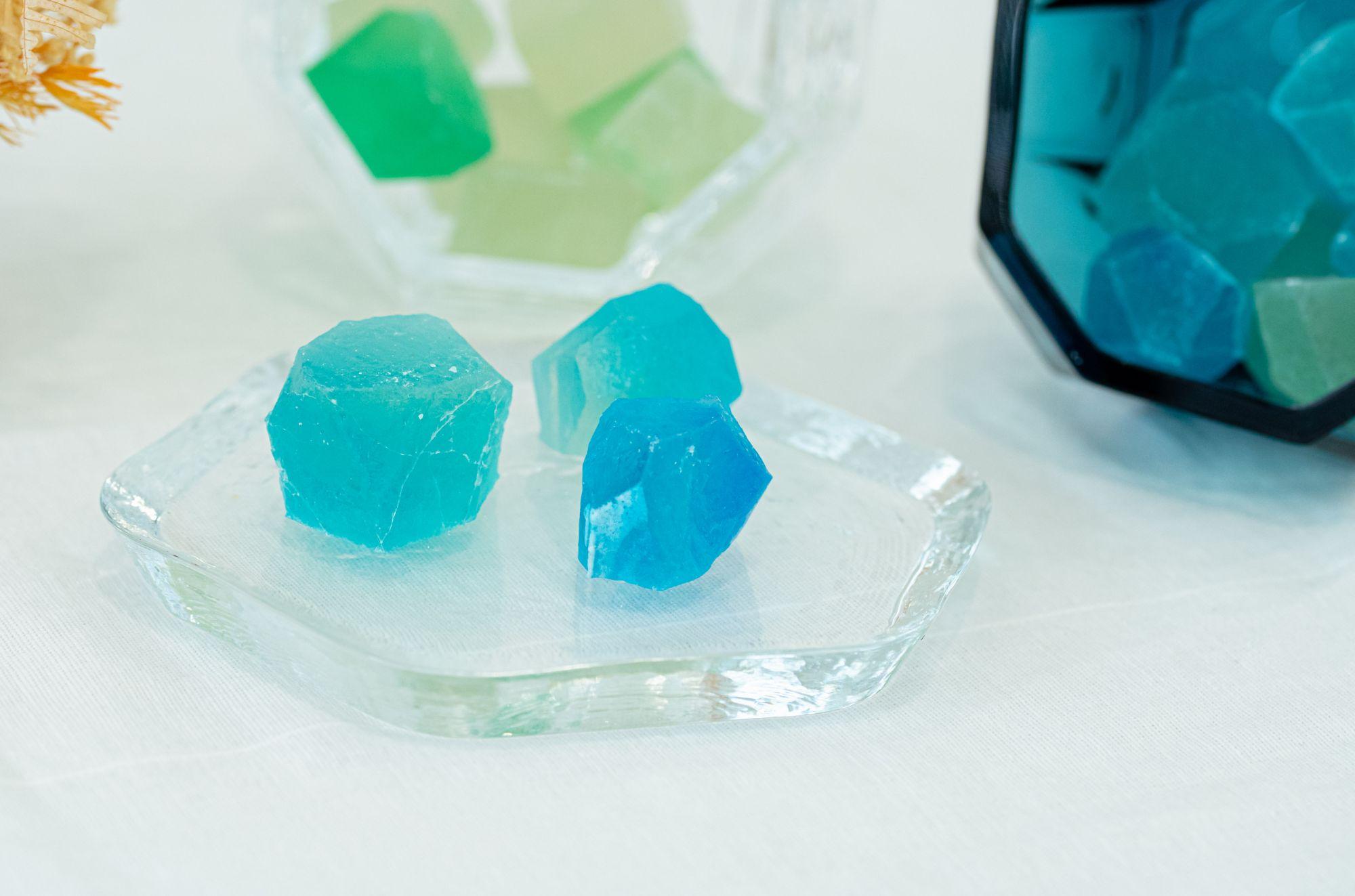 春池玻璃「玻璃自然形 GLASS IN NATURE」。(圖春池玻璃提供)