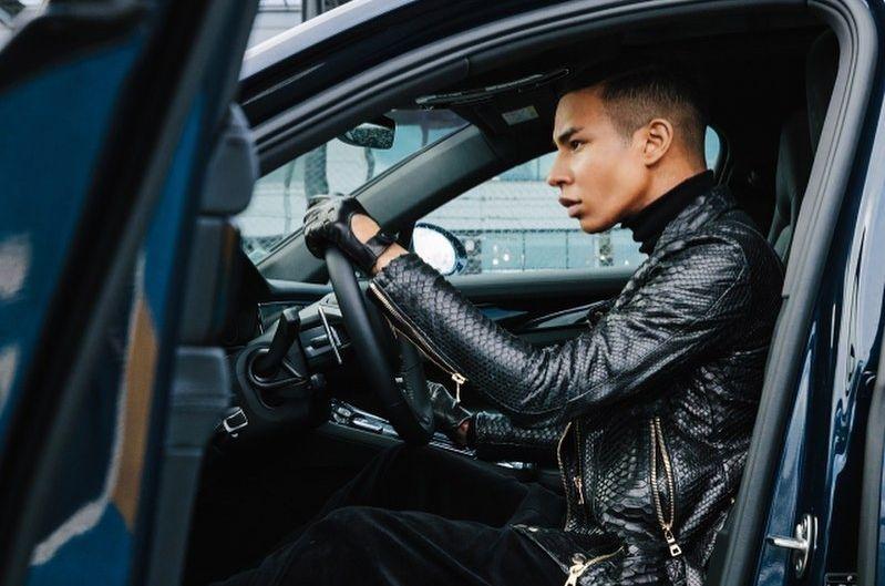 保時捷Porsche與Balmain創意總監Olivier Rousteing拍微電影 揭跨界合作新風貌